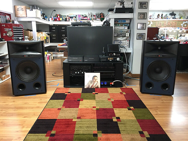 JBL 4367 Studio Monitor Loudspeaker Listening Setup