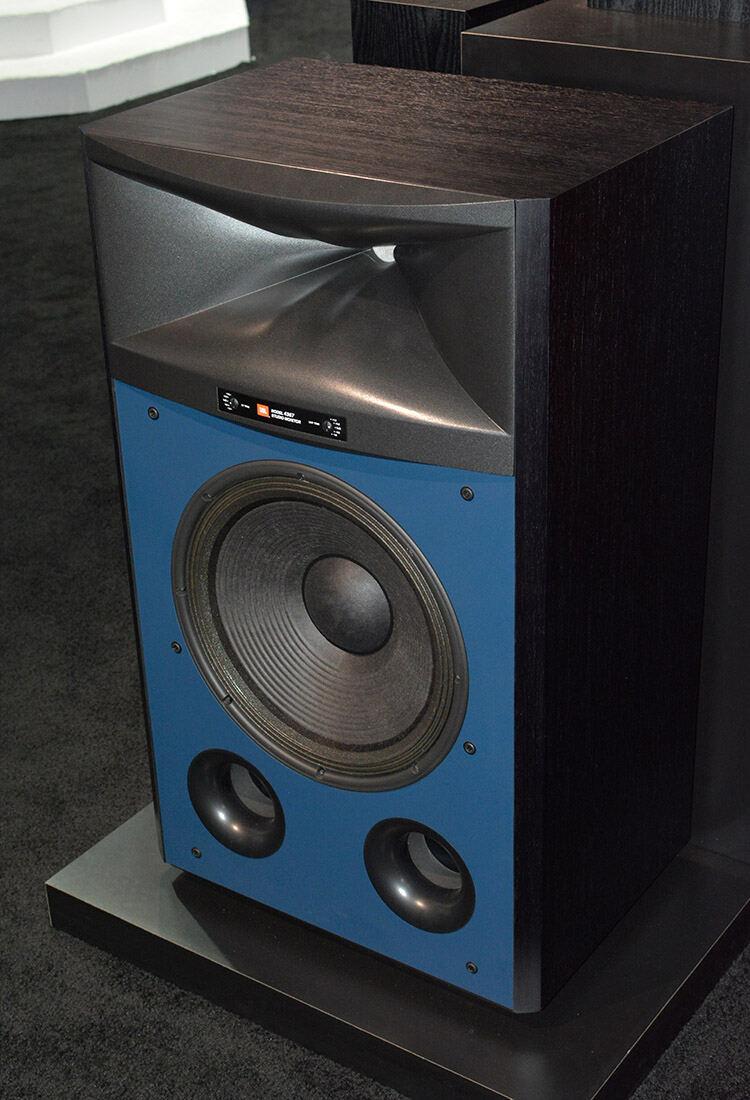JBL 4367 Studio Monitor Loudspeaker ¾ view