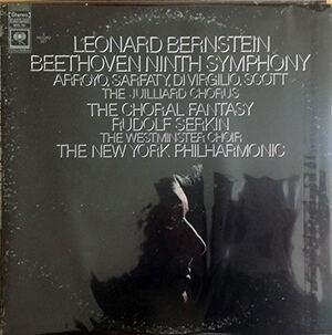 Leonard Bernstein, Beethoven's Ninth LP