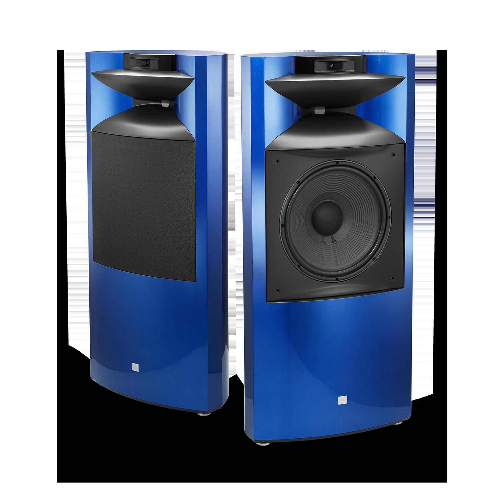 """K2 S9900 - Sapphire Blue Metallic - 3-way 15"""" (380mm) Floorstanding Loudspeaker - Hero"""