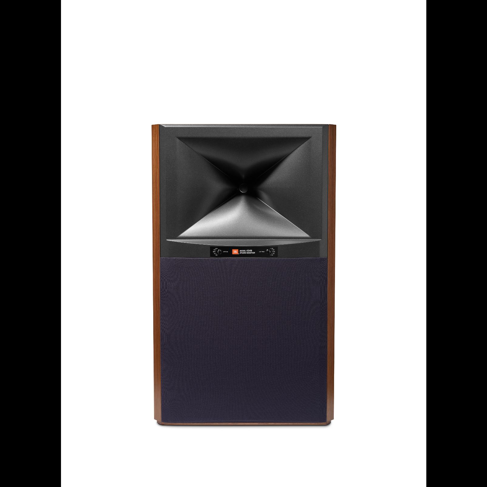4349 - Walnut - 12-inch (300mm) 2-way Studio Monitor Loudspeaker - Front