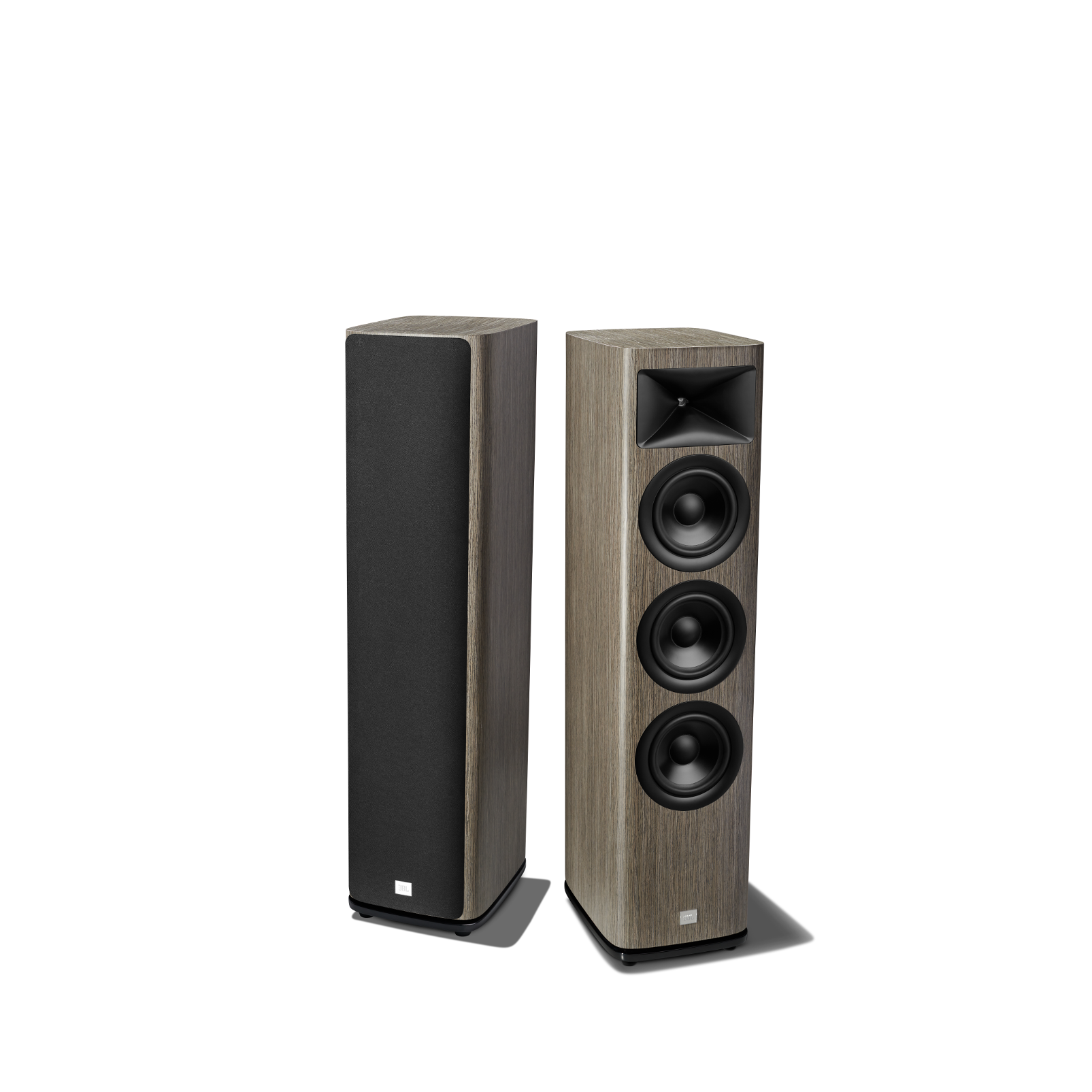 HDI-3600 - Grey Oak - 2 ½-way Triple 6.5-inch (165mm) Floorstanding Loudspeaker - Detailshot 1