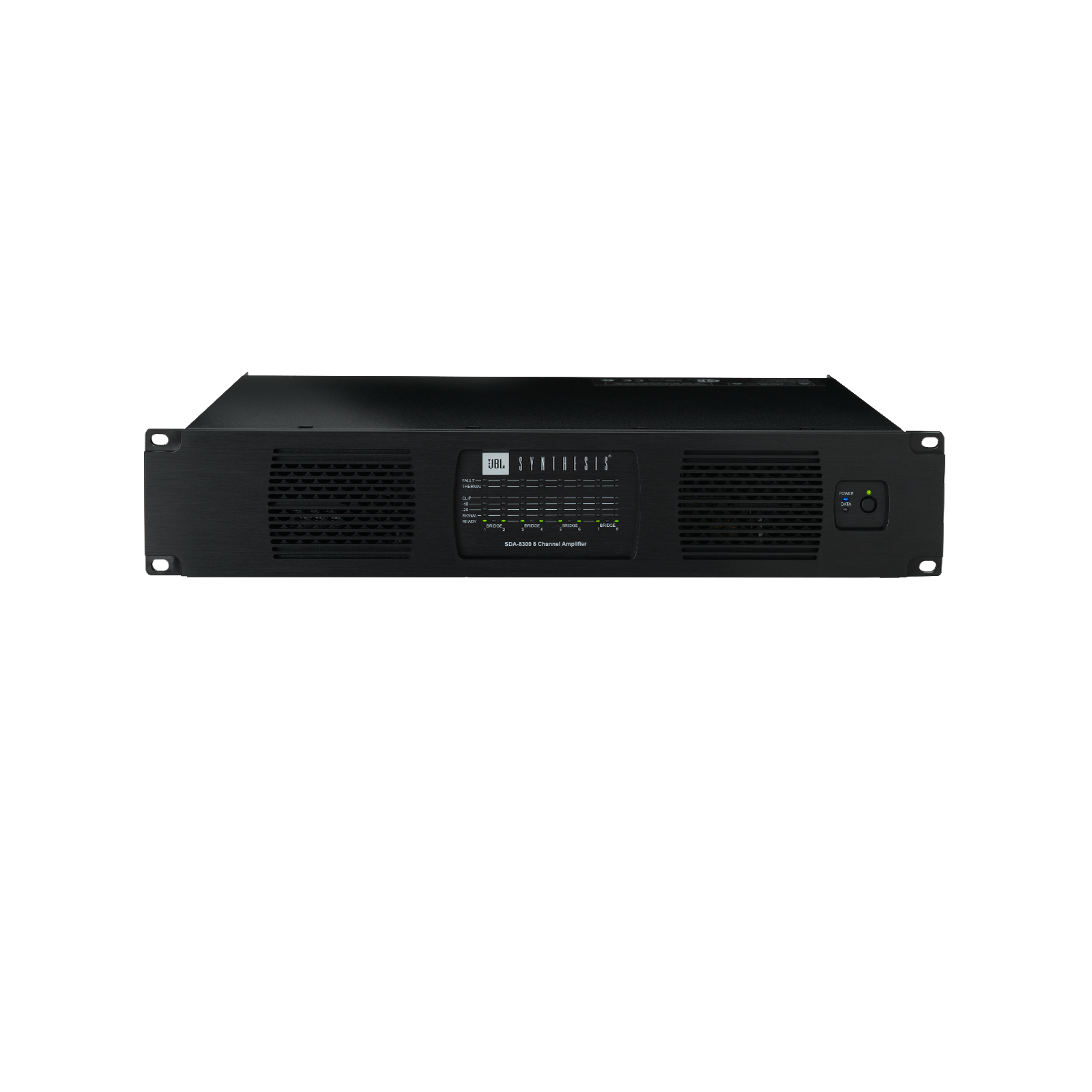 SDA 8300 - Black - SDA 8300 High-performance Installation Amplifier - Front