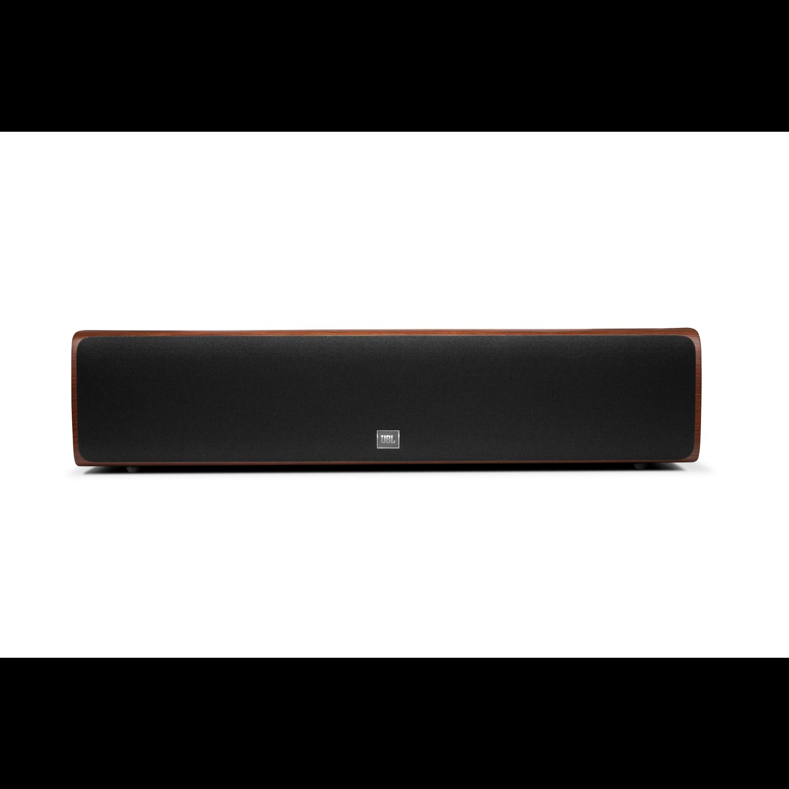 HDI-4500 - Walnut - 2 ½-way Quadruple 5.25-inch (130mm) Center Channel Loudspeaker - Front