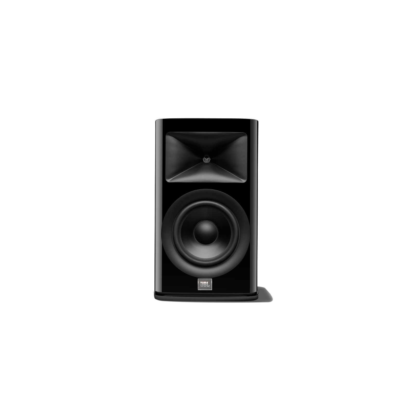 HDI-1600 - Black Gloss - 2-way 6.5-inch (165mm) Bookshelf Loudspeaker - Hero