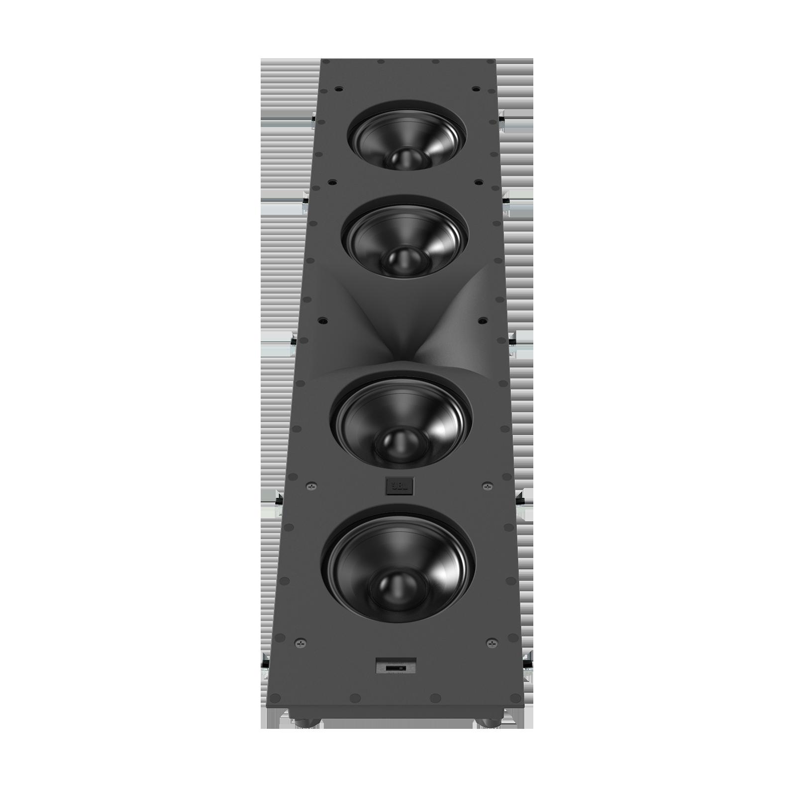 SCL-6 - Black - 2.5-Way Quadruple 5.25-inch (130mm) In-Wall Loudspeaker - Detailshot 1