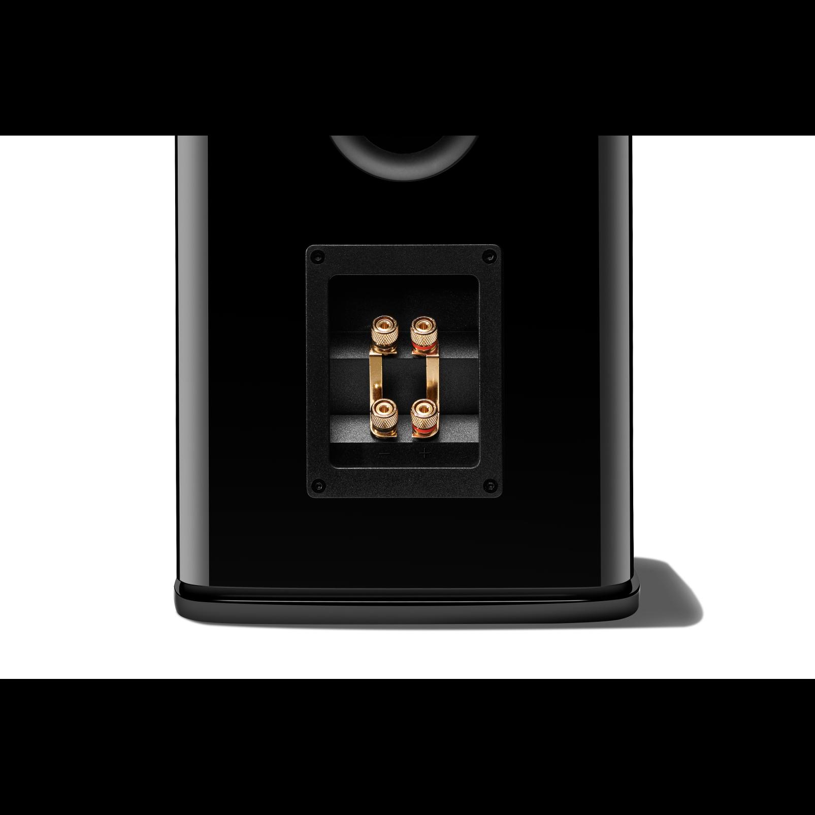 HDI-1600 - Black Gloss - 2-way 6.5-inch (165mm) Bookshelf Loudspeaker - Detailshot 3