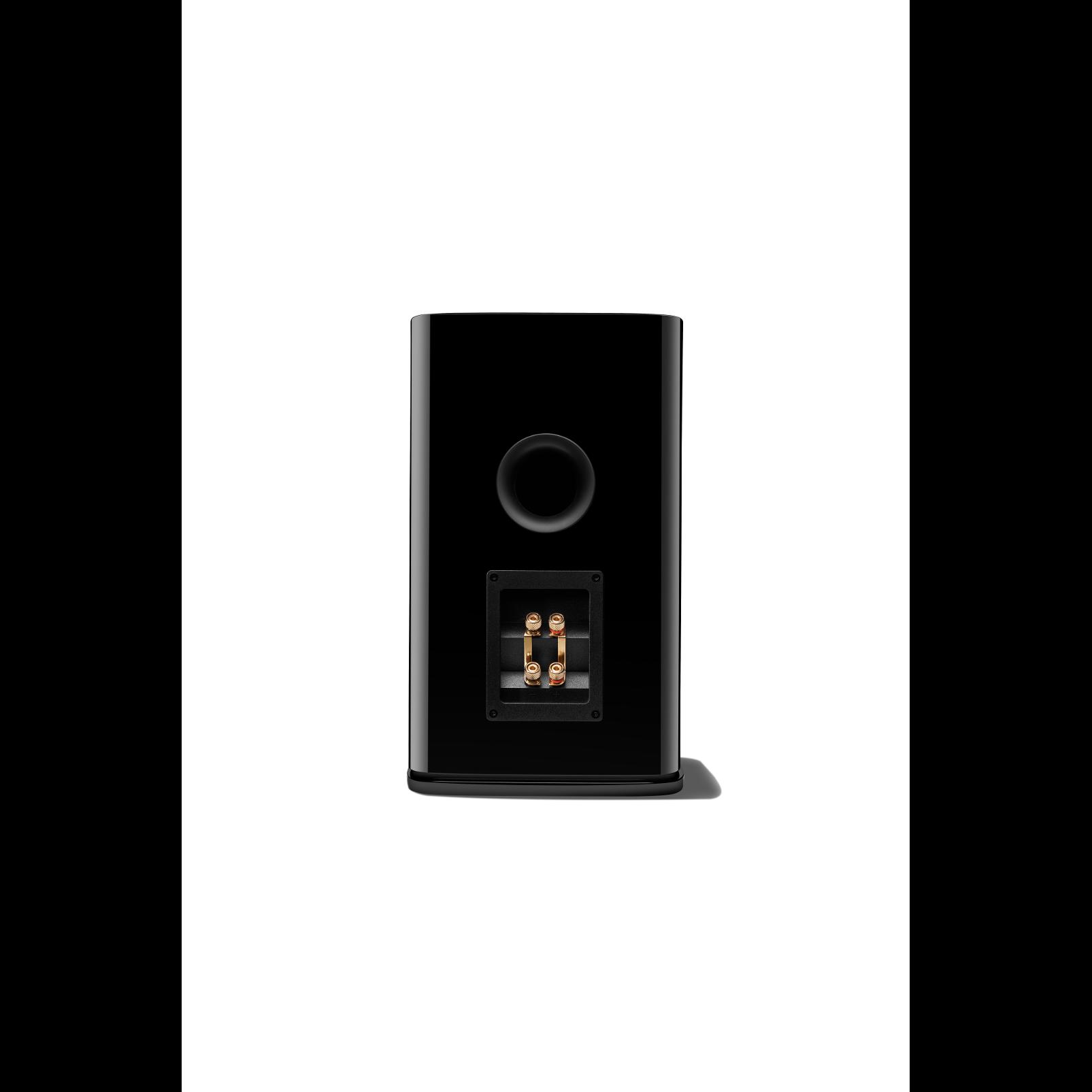 HDI-1600 - Black Gloss - 2-way 6.5-inch (165mm) Bookshelf Loudspeaker - Back