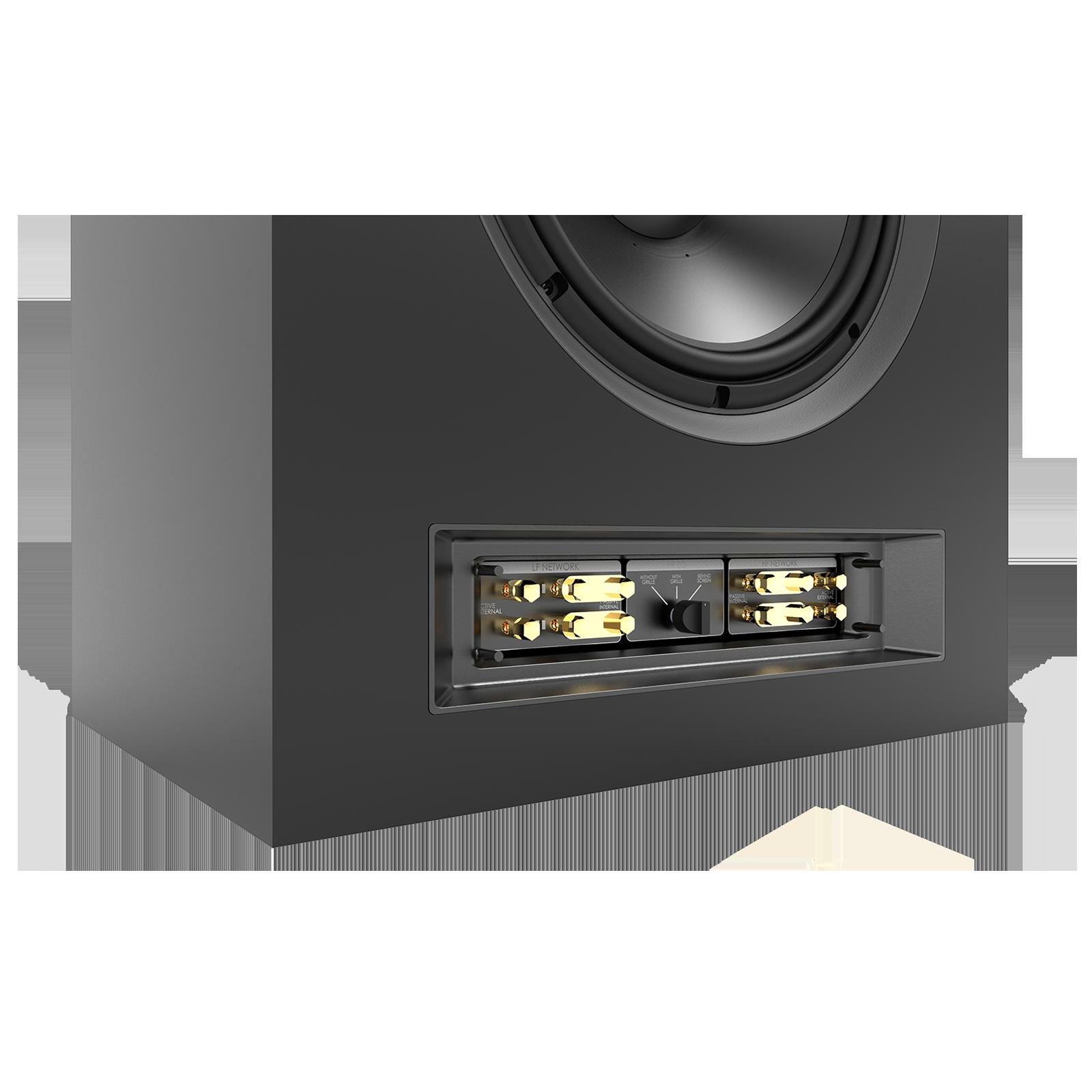 SCL-1 - Black - 2-Way Dual 12-inch (300mm) Custom LCR Loudspeaker - Detailshot 3