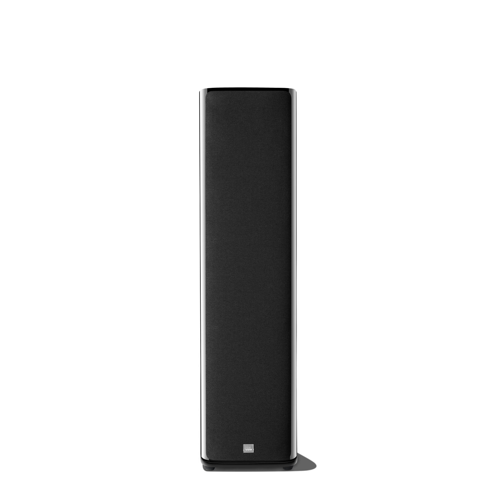 HDI-3800 - Black Gloss - 2 ½-way Triple 8-inch (200mm) Floorstanding Loudspeaker - Front