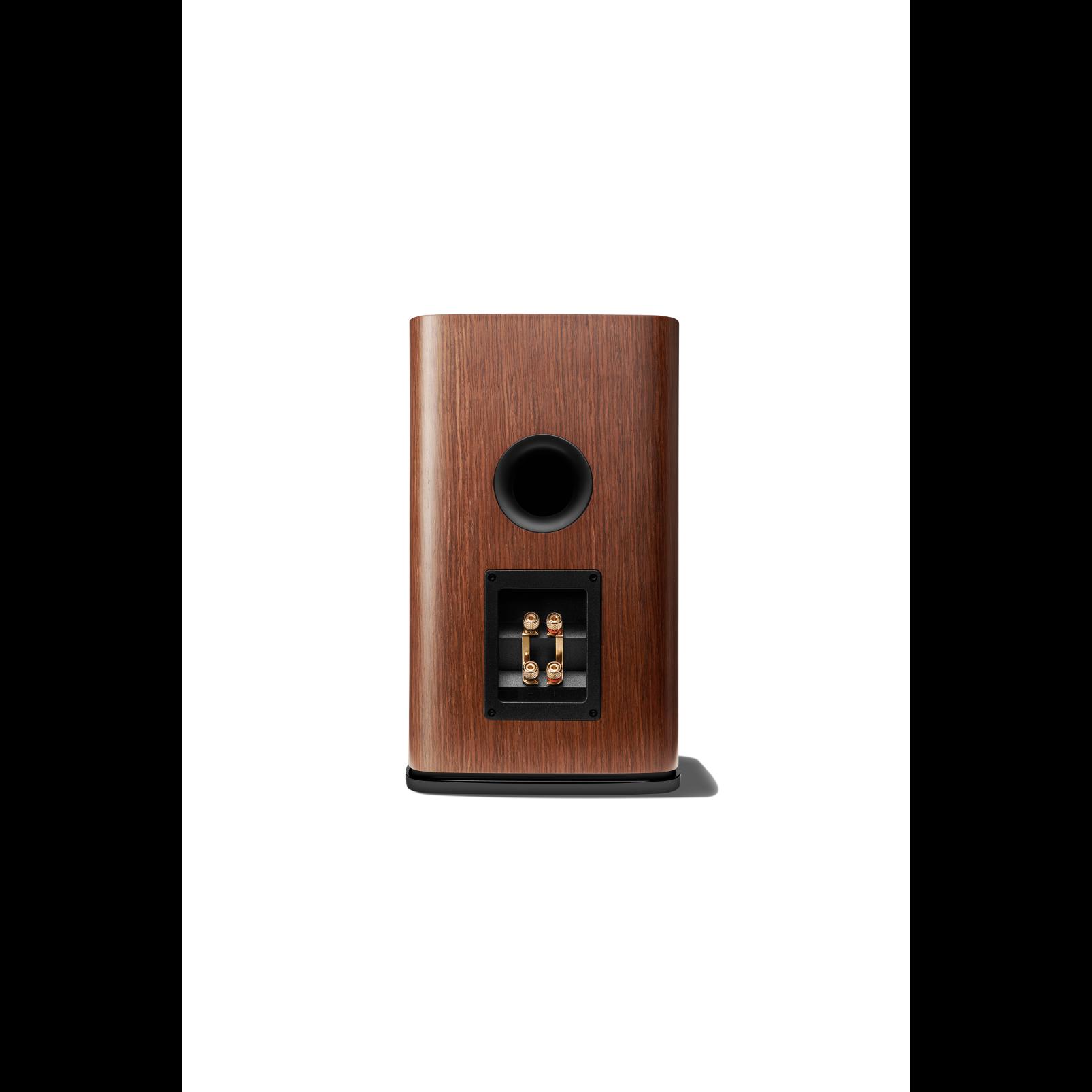 HDI-1600 - Walnut - 2-way 6.5-inch (165mm) Bookshelf Loudspeaker - Back