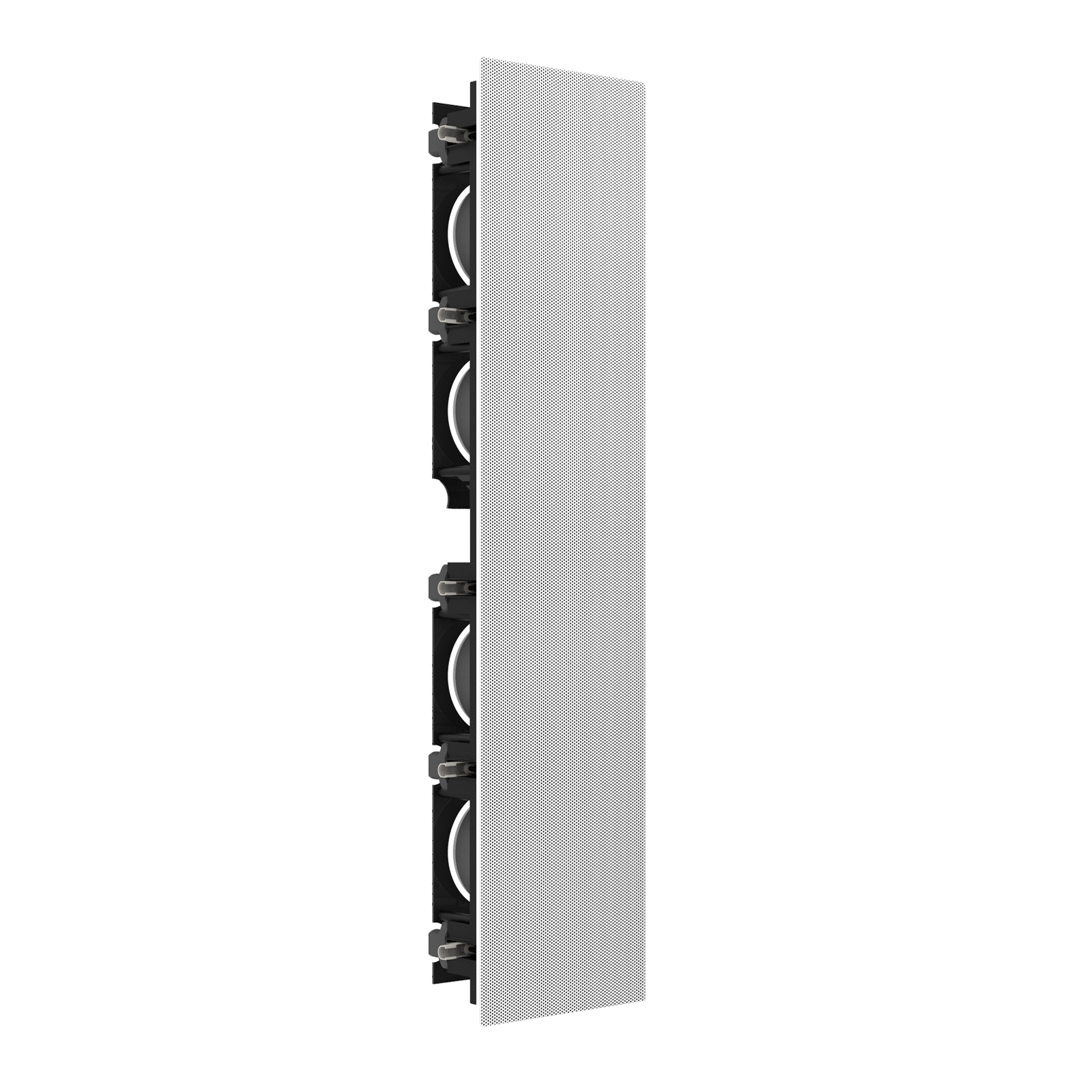SCL-6 - Black - 2.5-Way Quadruple 5.25-inch (130mm) In-Wall Loudspeaker - Detailshot 4