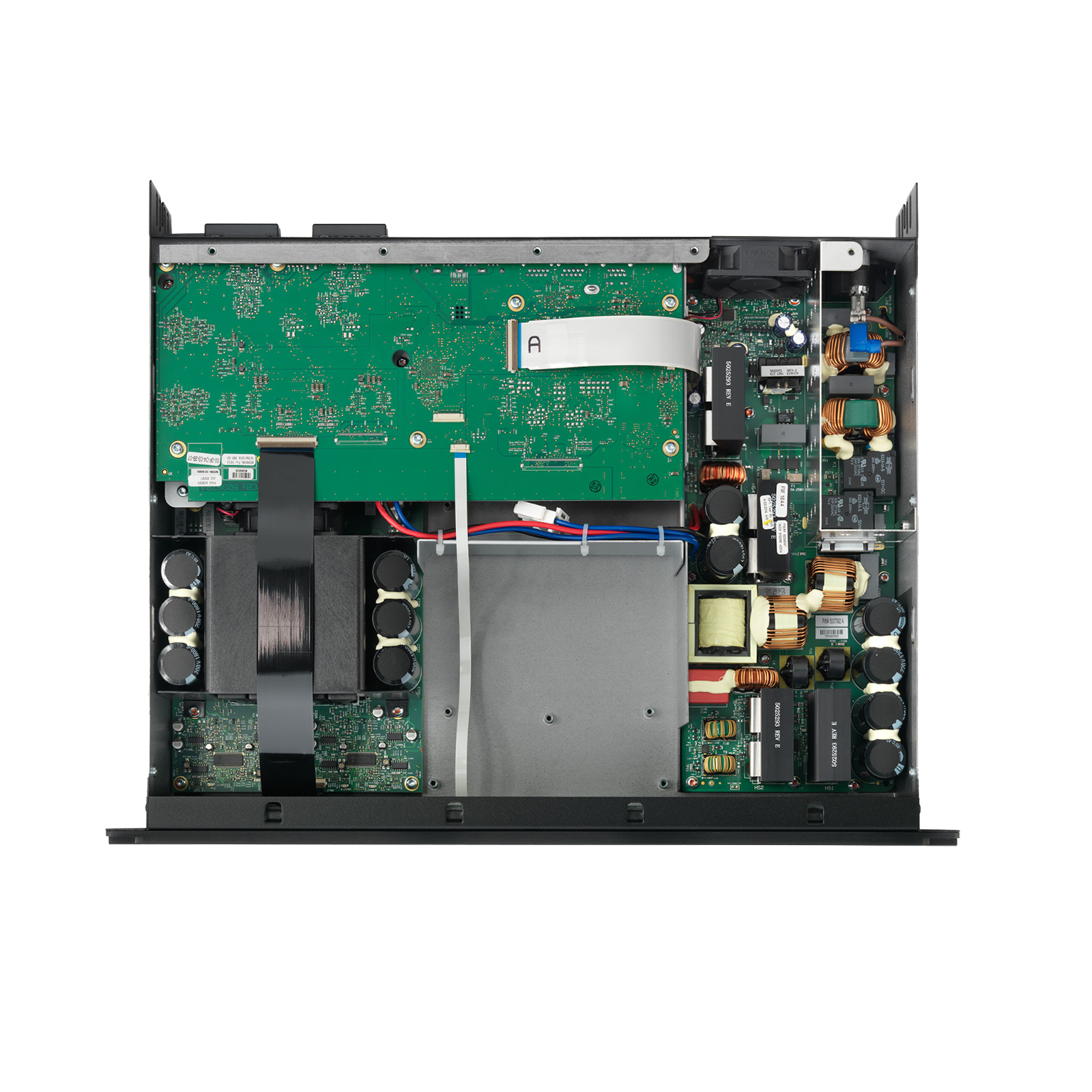 SDA 4600 - Black - Multichannel Power Amplifier - Detailshot 1
