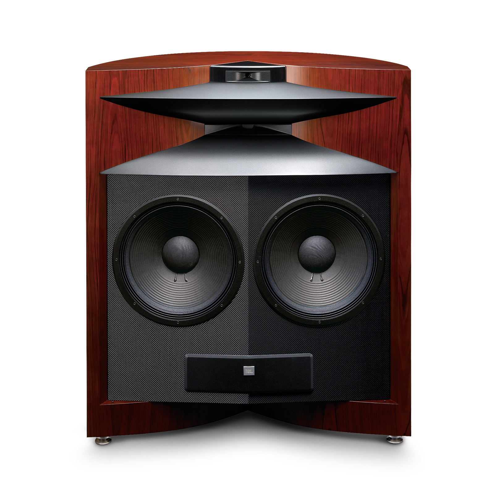 Project EVEREST DD67000 - Cherry - Dual 15″ (380mm), three-way, floorstanding speaker designed for a superlative listening experience - Detailshot 1