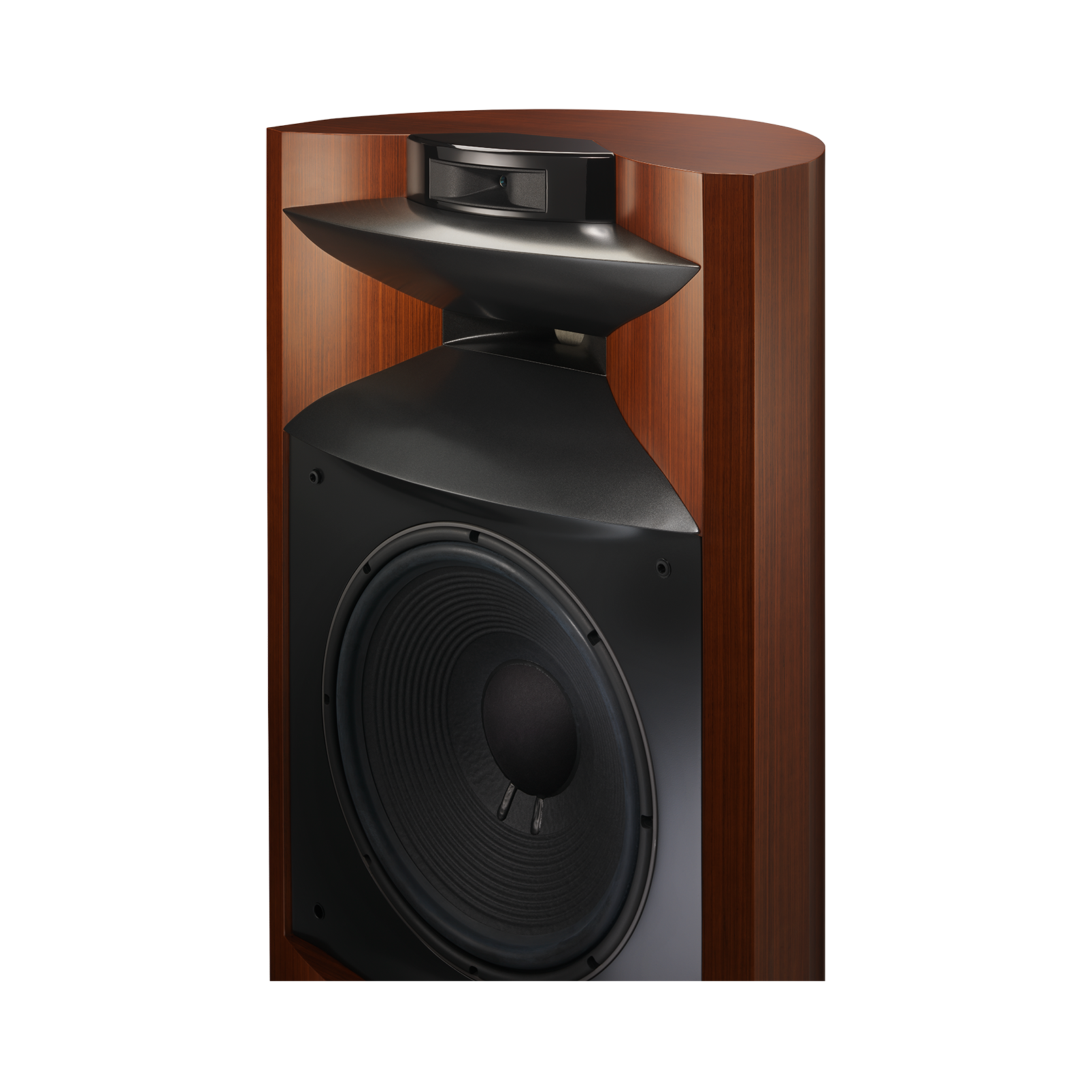 "K2 S9900 - Wood Grain - 3-way 15"" (380mm) Floorstanding Loudspeaker - Detailshot 4"