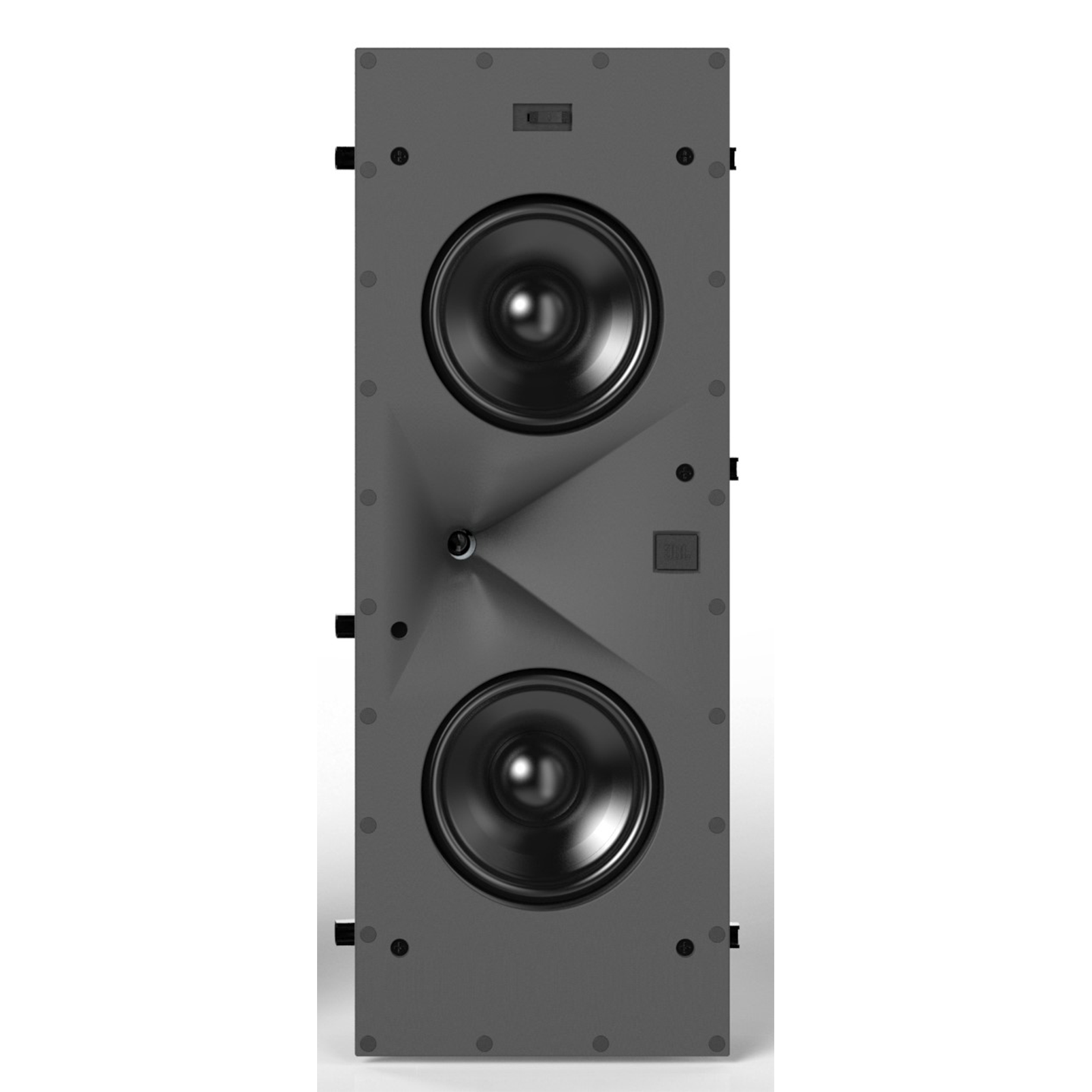 SCL-7 - Black - 2-Way Dual 5.25-inch (130mm) In-Wall Loudspeaker - Front