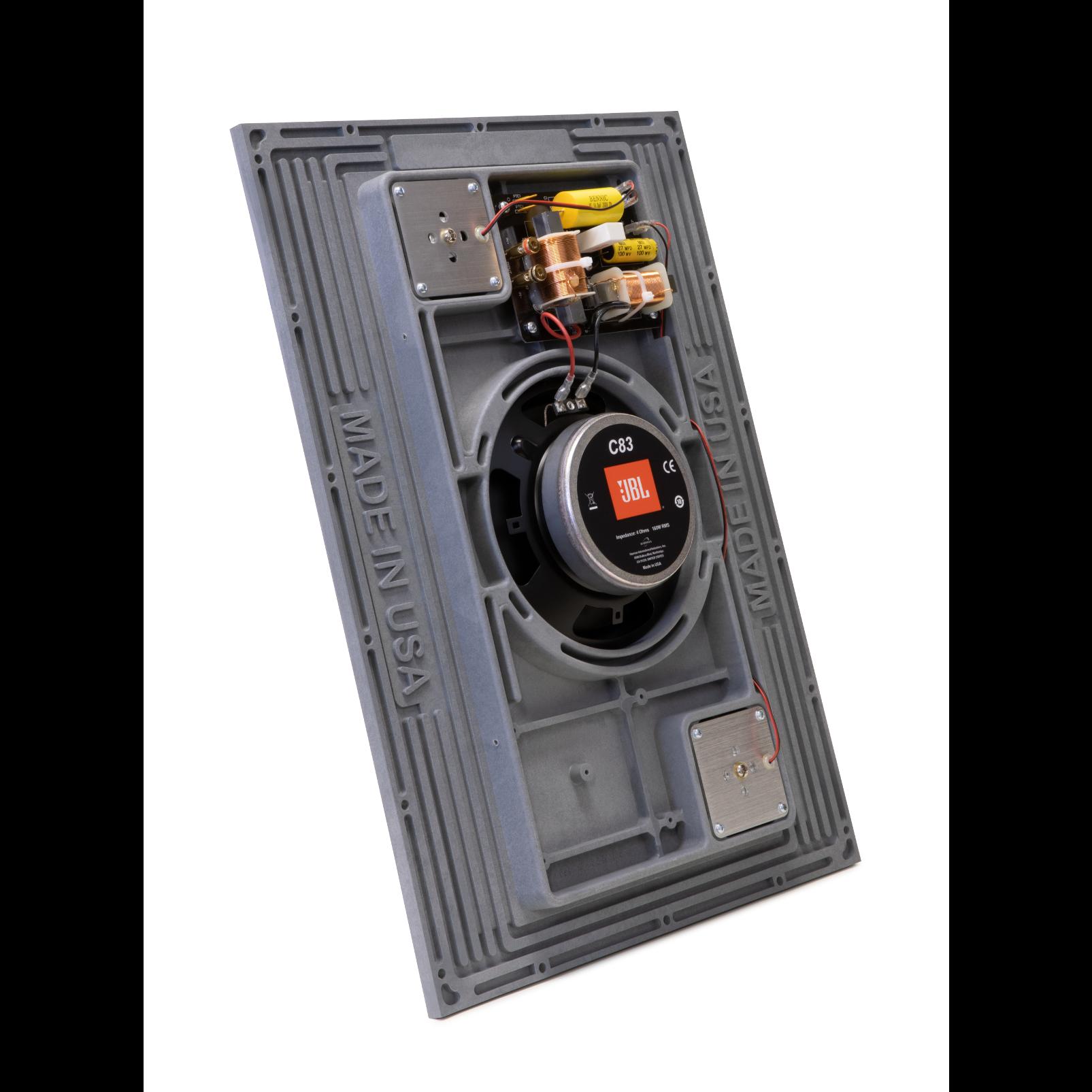 Conceal C83 - Grey - 8-inch (200mm) 3-element Invisible Loudspeaker - Detailshot 1