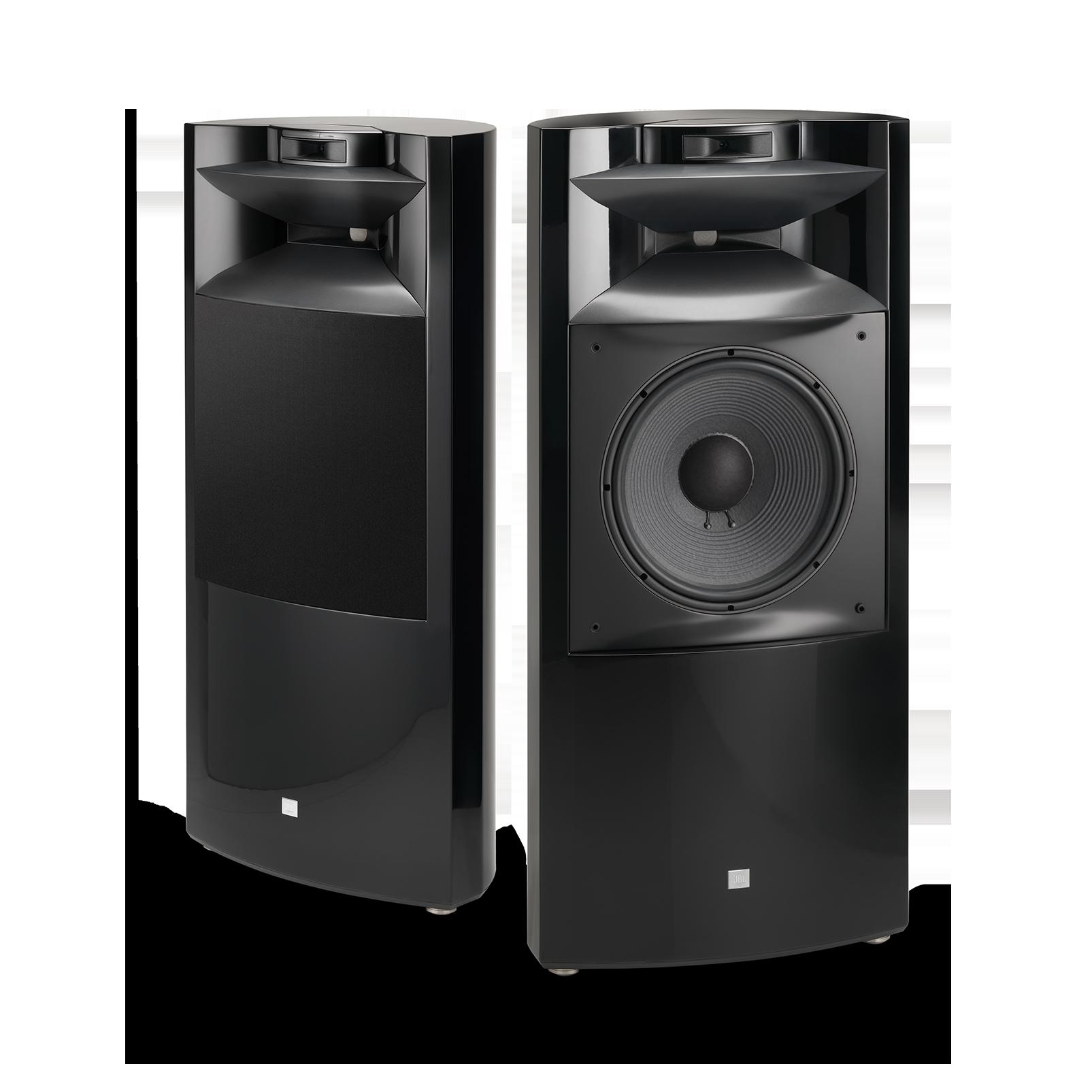 "K2 S9900 - Black Gloss - 3-way 15"" (380mm) Floorstanding Loudspeaker - Hero"