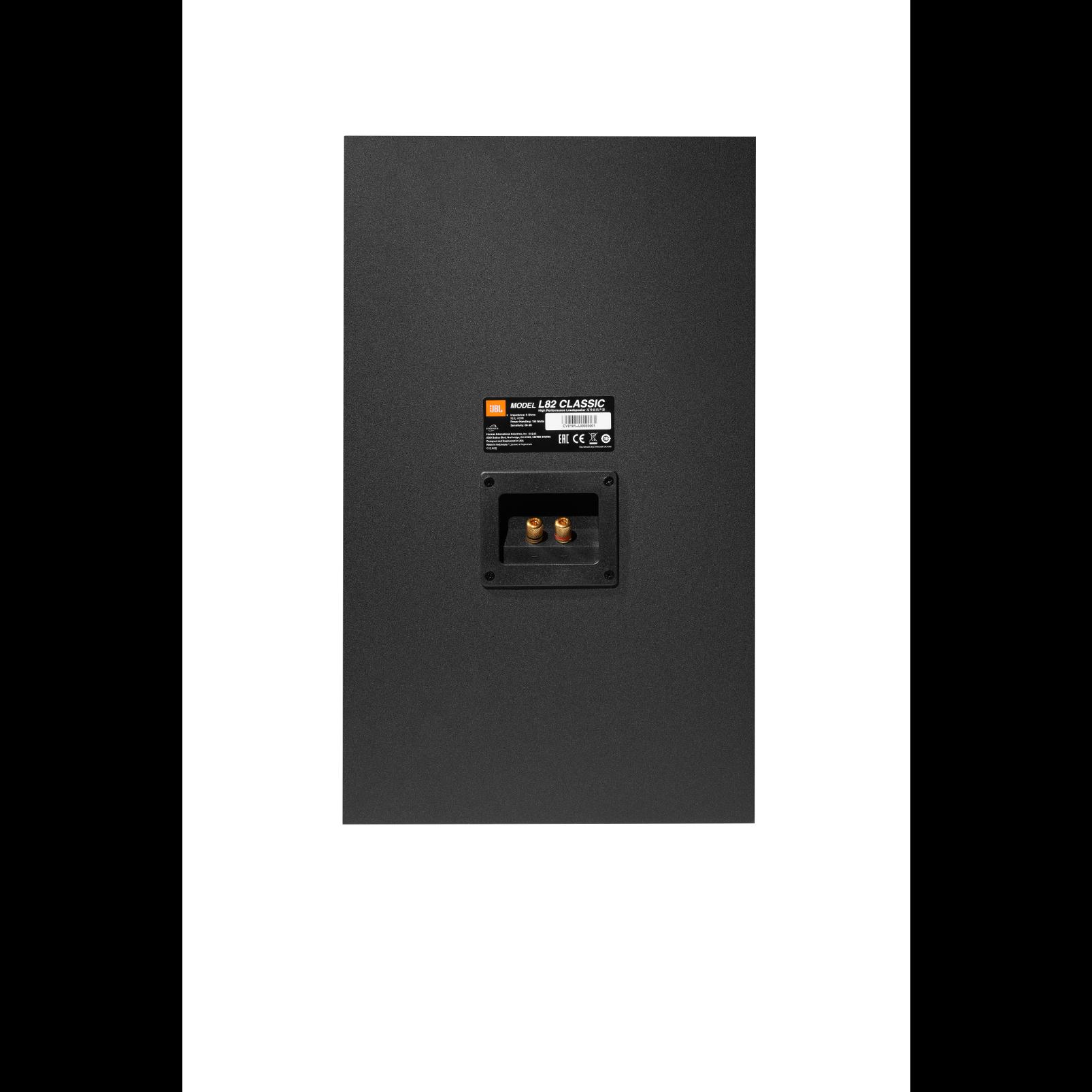 L82 Classic - Orange - 2-way 8-inch (200mm) Bookshelf Loudspeaker - Back
