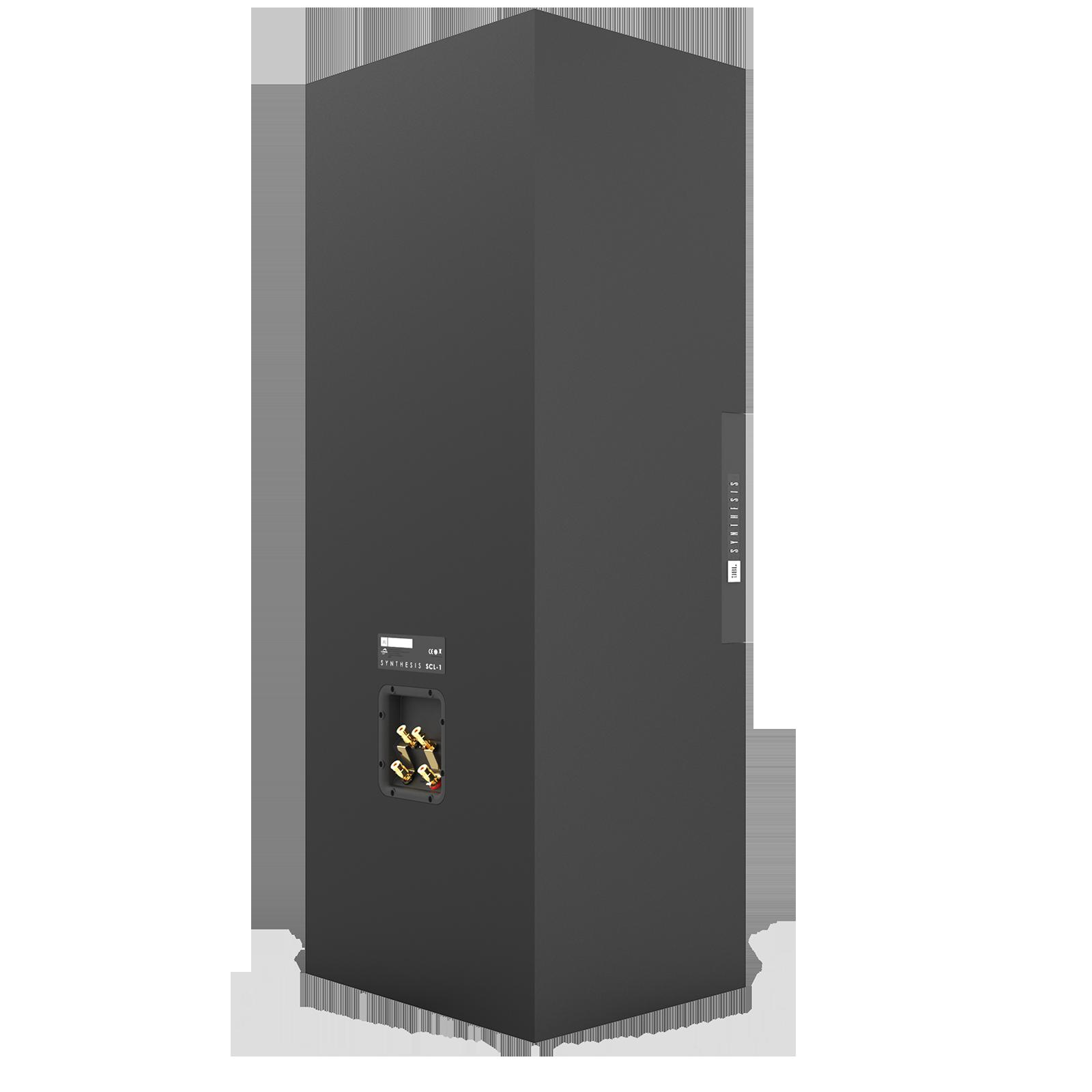 SCL-1 - Black - 2-Way Dual 12-inch (300mm) Custom LCR Loudspeaker - Back