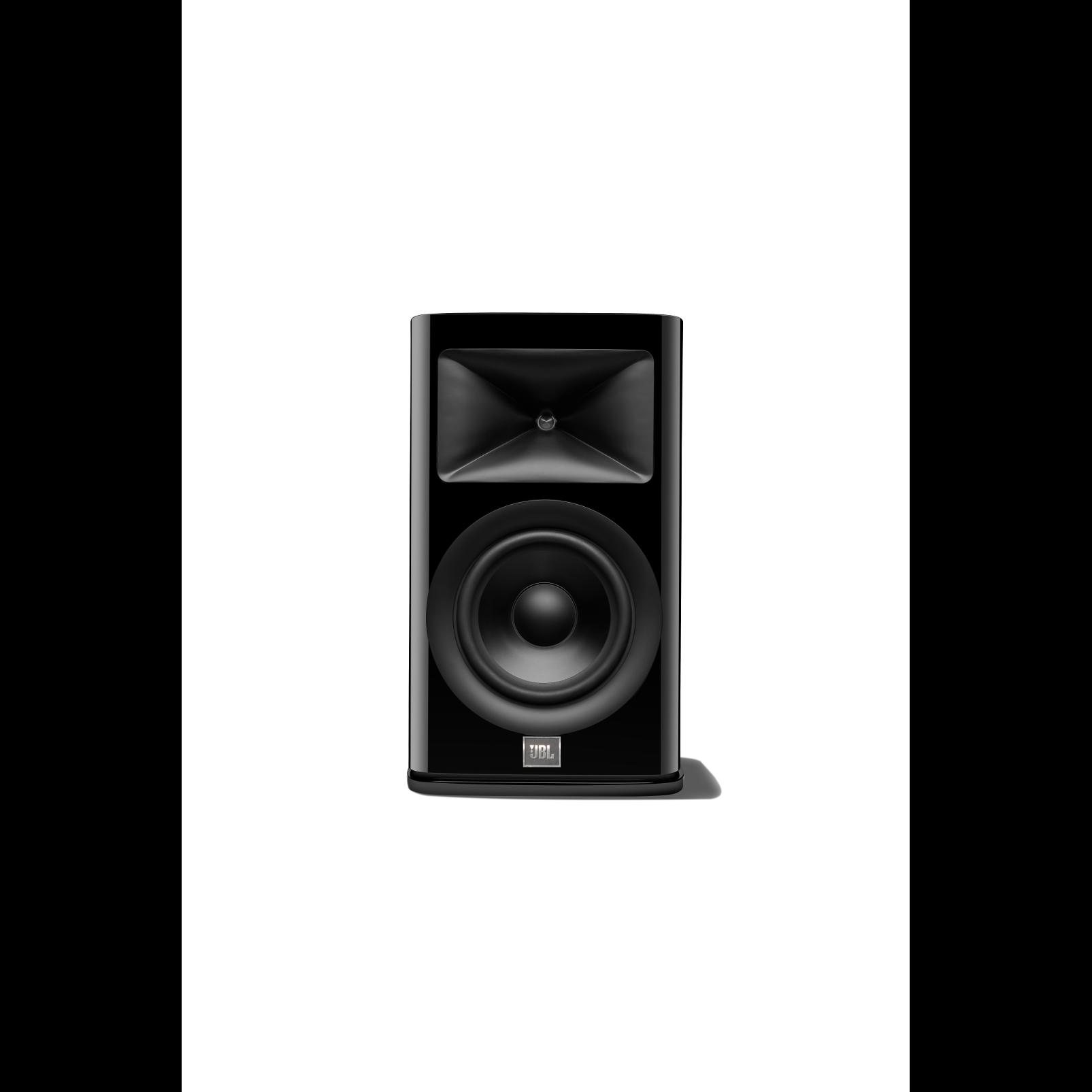 HDI-1600 - Black Gloss - 2-way 6.5-inch (165mm) Bookshelf Loudspeaker - Hero
