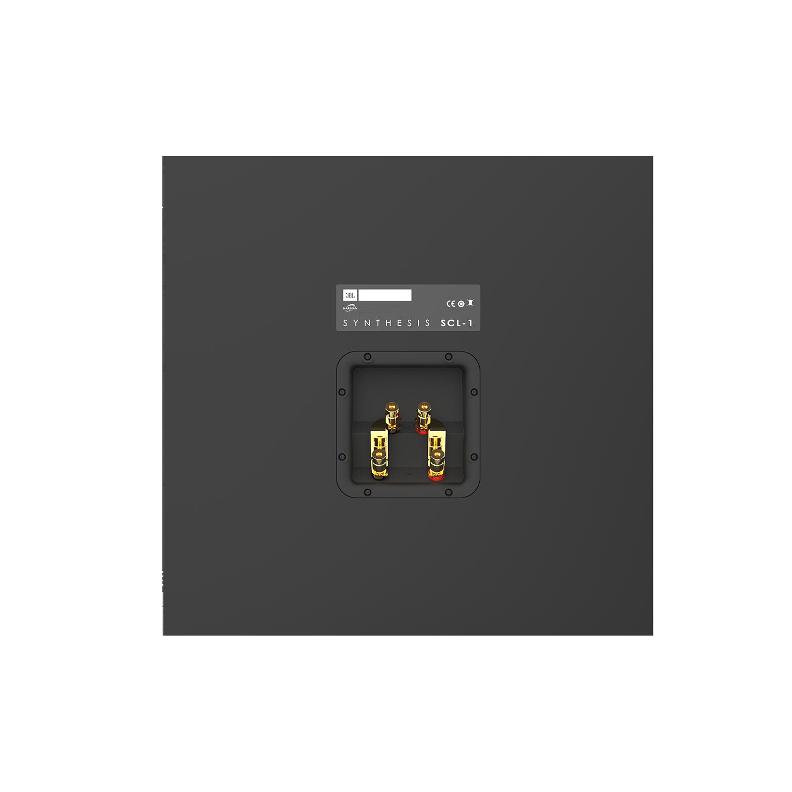 SCL-1 - Black - 2-Way Dual 12-inch (300mm) Custom LCR Loudspeaker - Detailshot 15