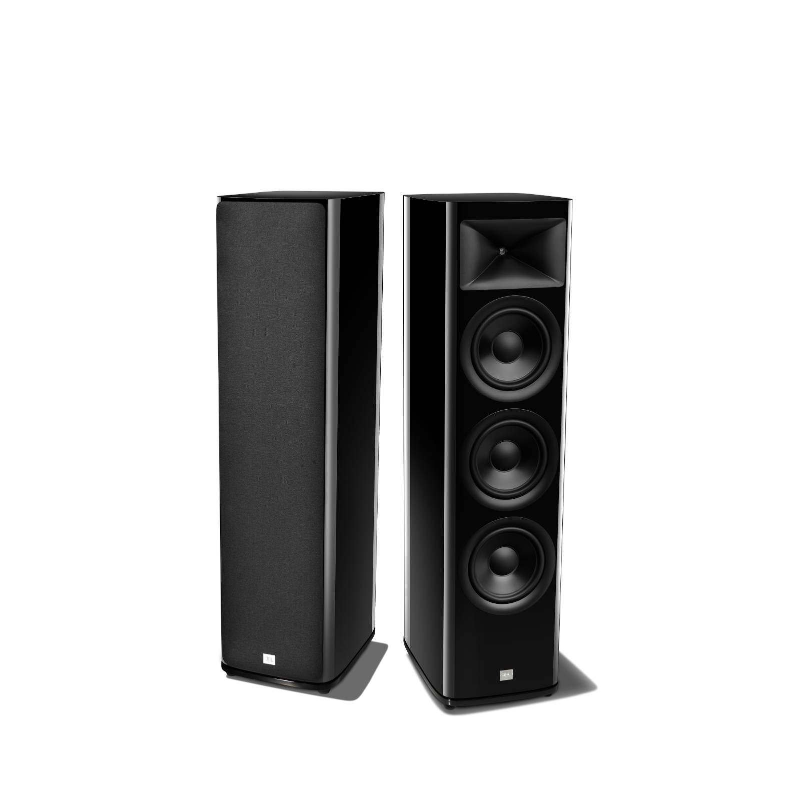 HDI-3800 - Black Gloss - 2 ½-way Triple 8-inch (200mm) Floorstanding Loudspeaker - Detailshot 1