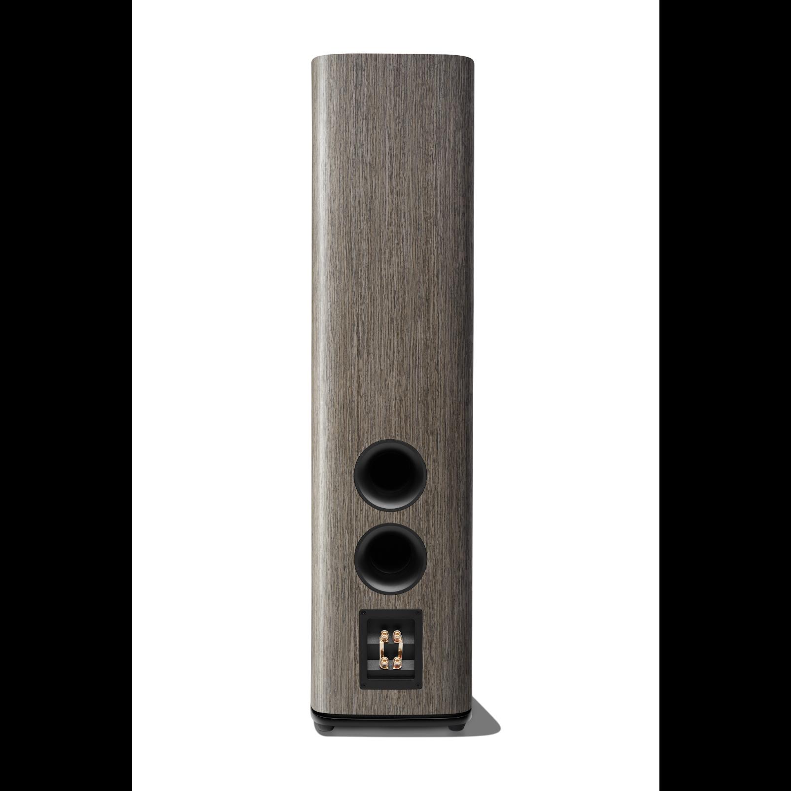 HDI-3600 - Grey Oak - 2 ½-way Triple 6.5-inch (165mm) Floorstanding Loudspeaker - Back