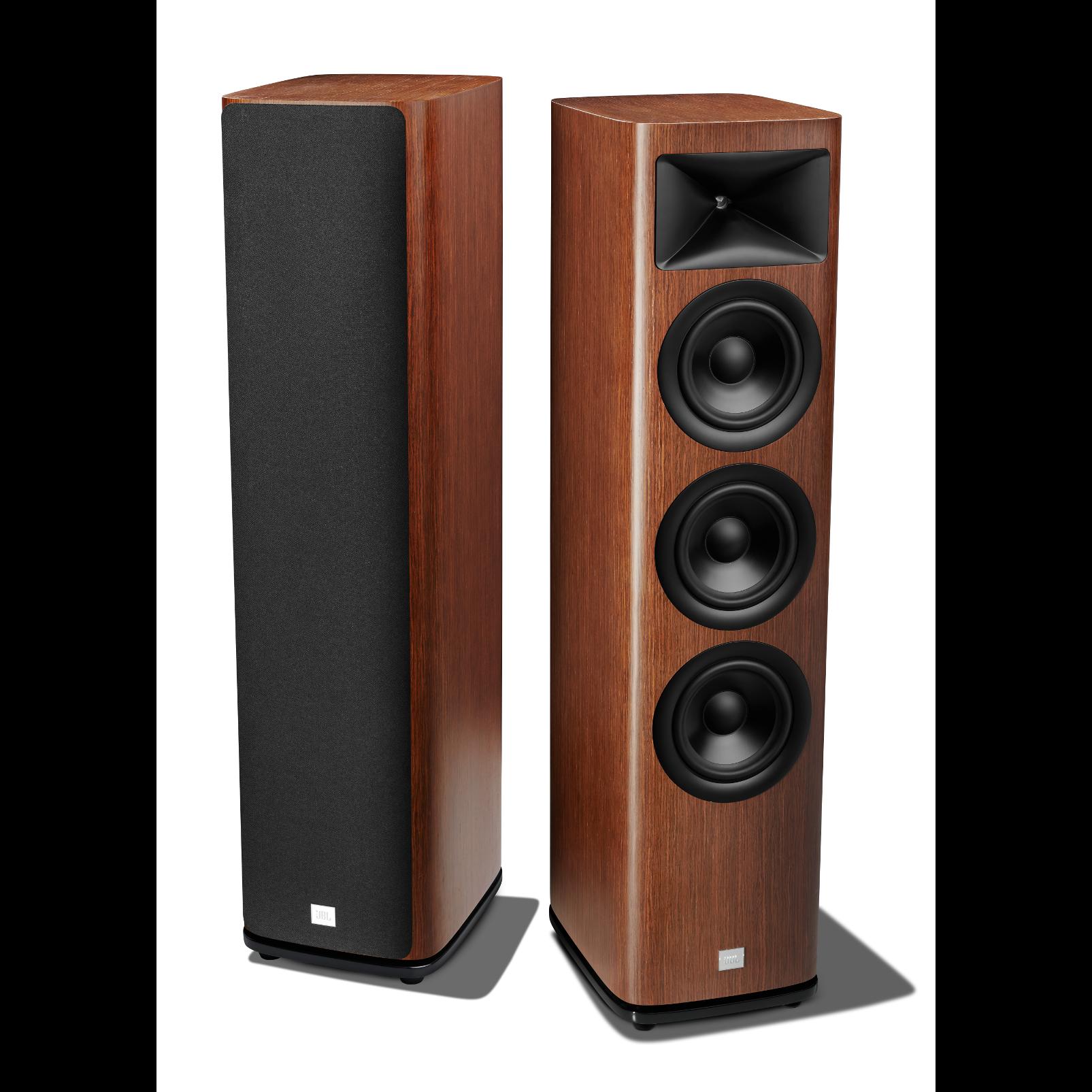 HDI-3600 - Walnut - 2 ½-way Triple 6.5-inch (165mm) Floorstanding Loudspeaker - Detailshot 1