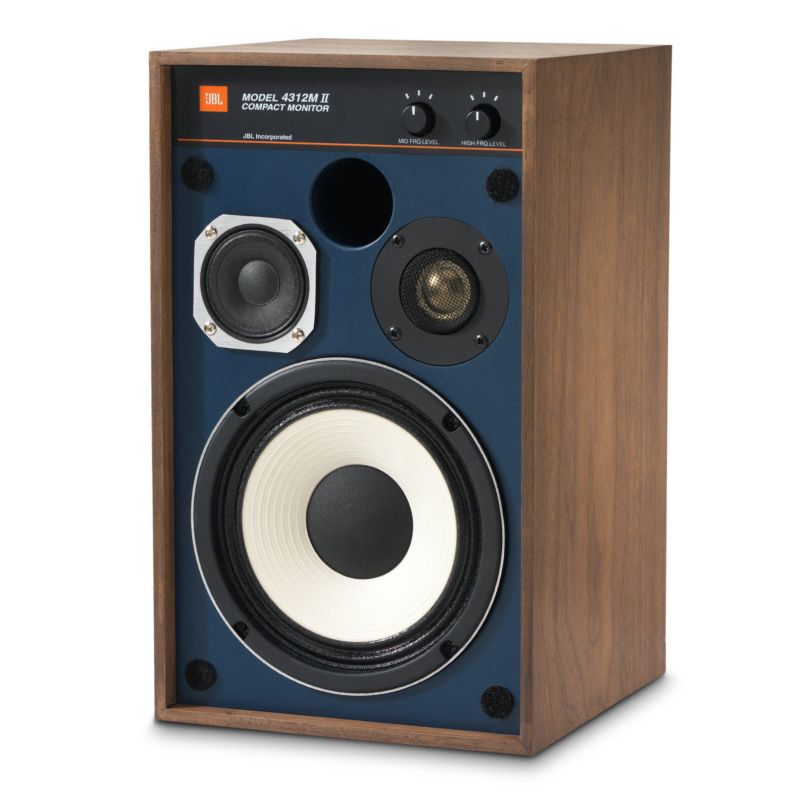"4312MII - Brown - 5.25"" 3-way Studio Monitor Loudspeaker - Detailshot 4"