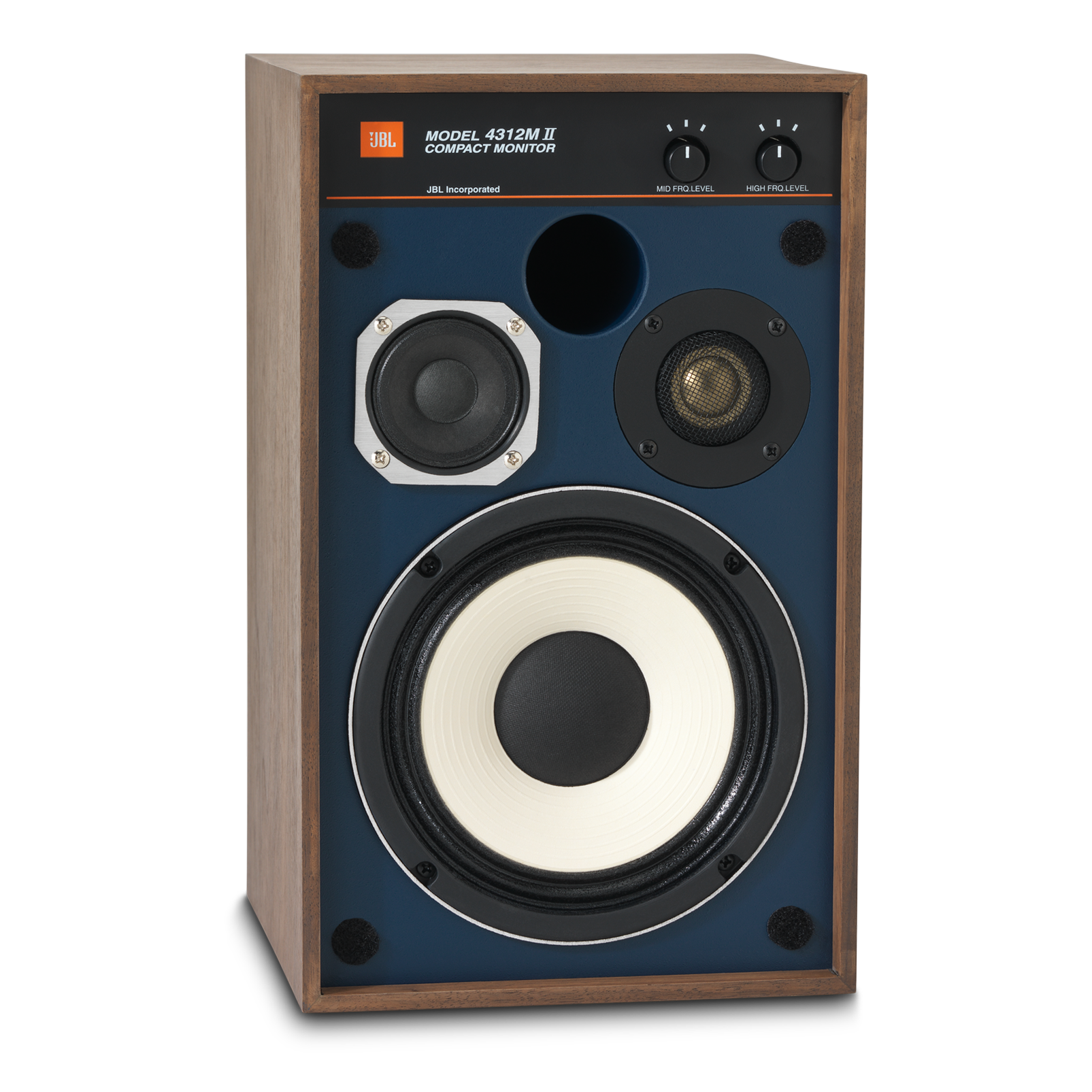 "4312MII - Brown - 5.25"" 3-way Studio Monitor Loudspeaker - Detailshot 1"