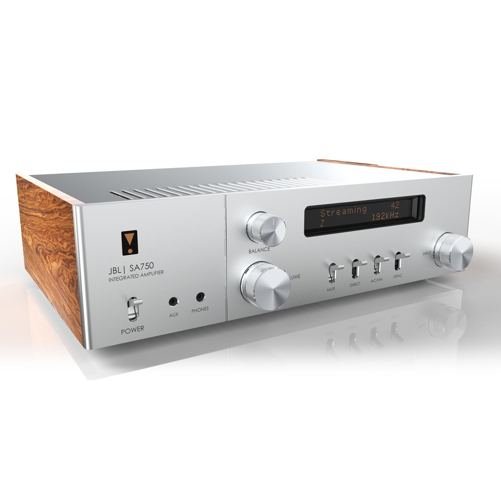 SA750 - Black - Streaming Integrated Stereo Amplifier – Anniversary Edition - Hero