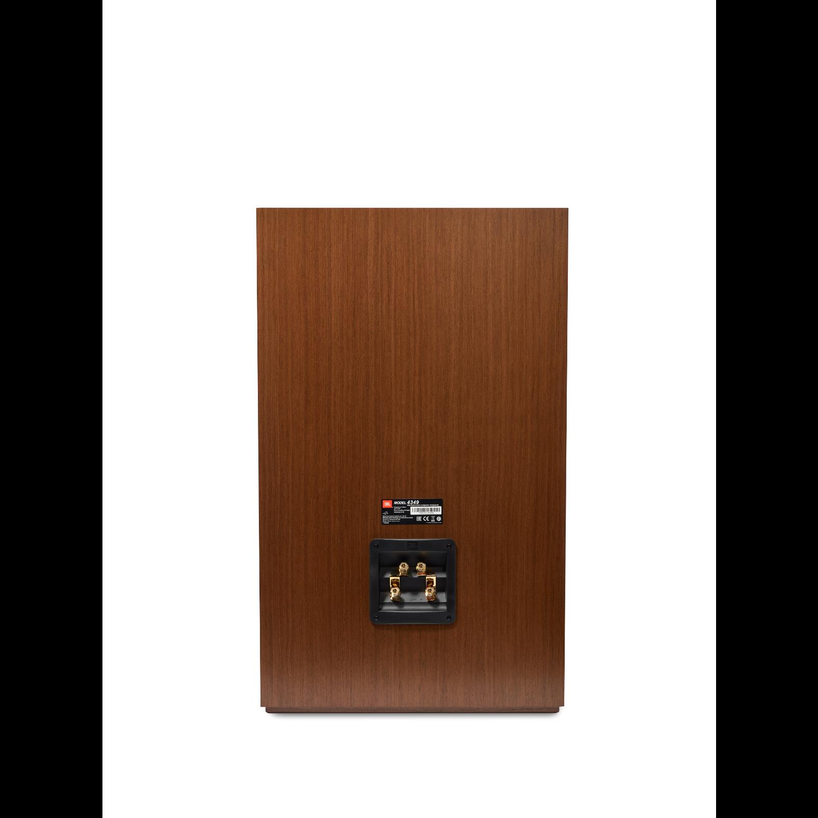 4349 - Walnut - 12-inch (300mm) 2-way Studio Monitor Loudspeaker - Back