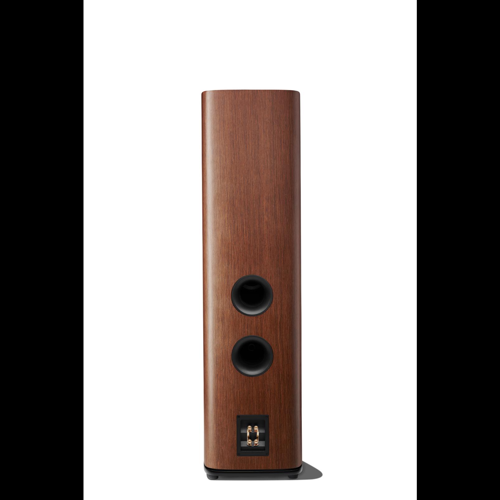HDI-3800 - Walnut - 2 ½-way Triple 8-inch (200mm) Floorstanding Loudspeaker - Back