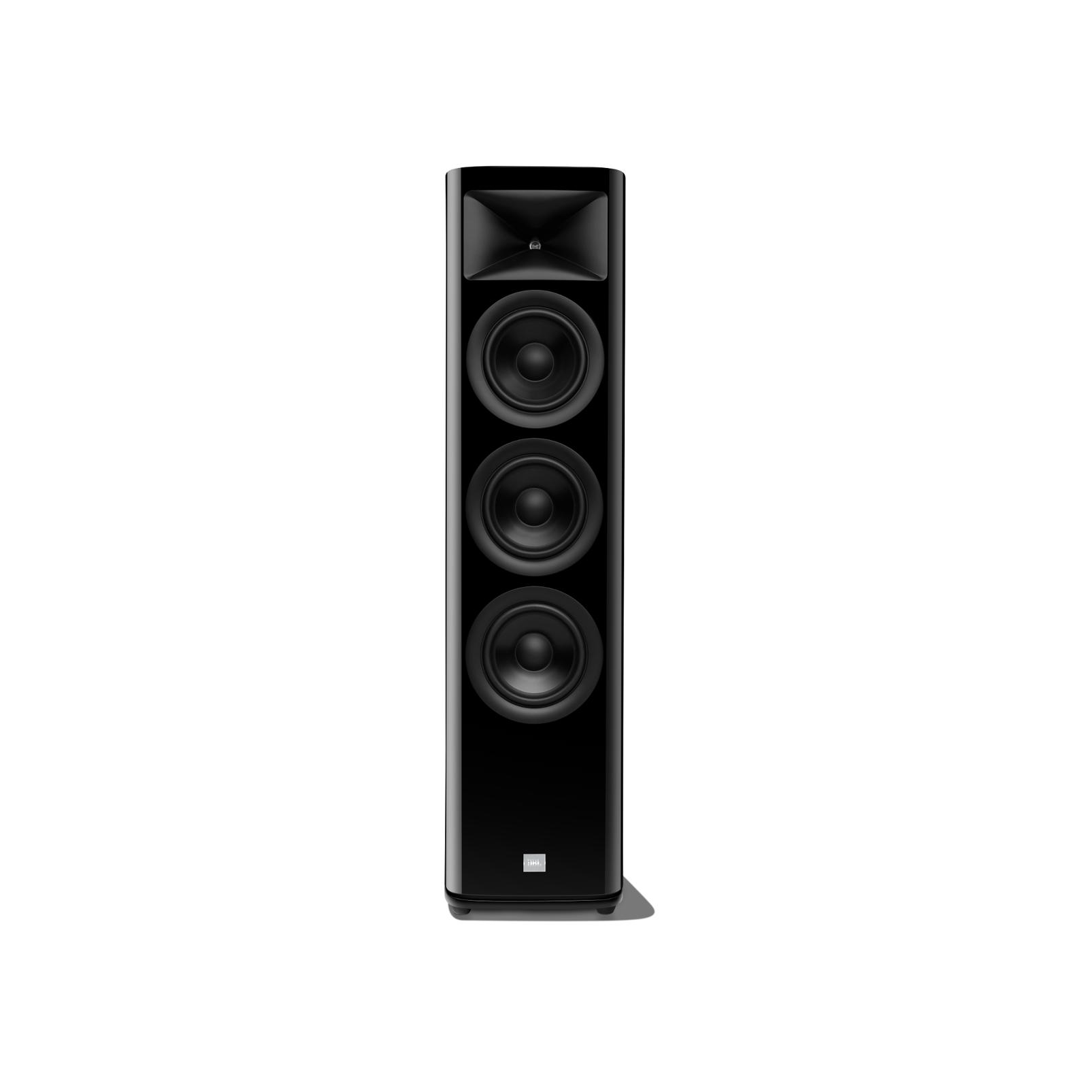 HDI-3600 - Black Gloss - 2 ½-way Triple 6.5-inch (165mm) Floorstanding Loudspeaker - Hero