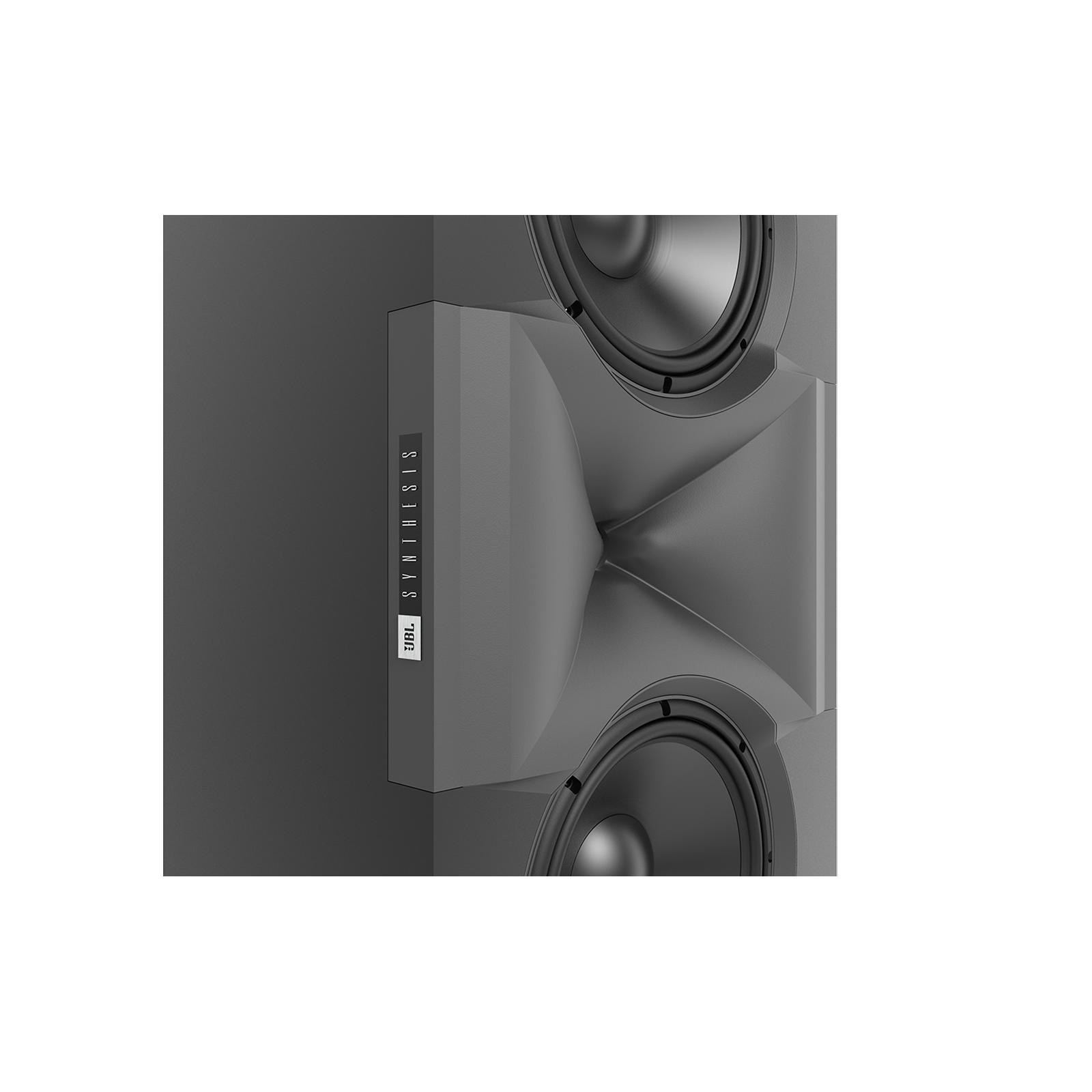 SCL-1 - Black - 2-Way Dual 12-inch (300mm) Custom LCR Loudspeaker - Detailshot 8