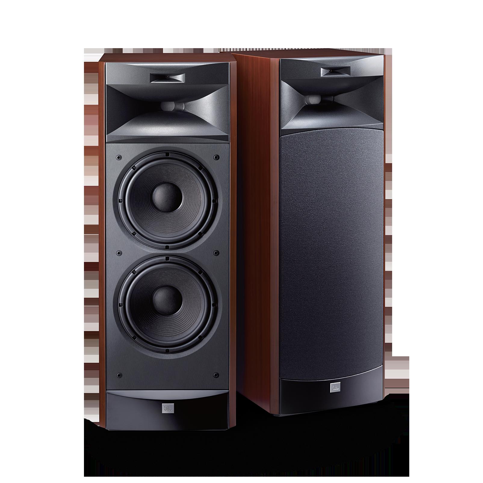 """JBL S3900 - Cherry - 3-way Dual 10"""" (250mm) Floorstanding Loudspeaker - Hero"""