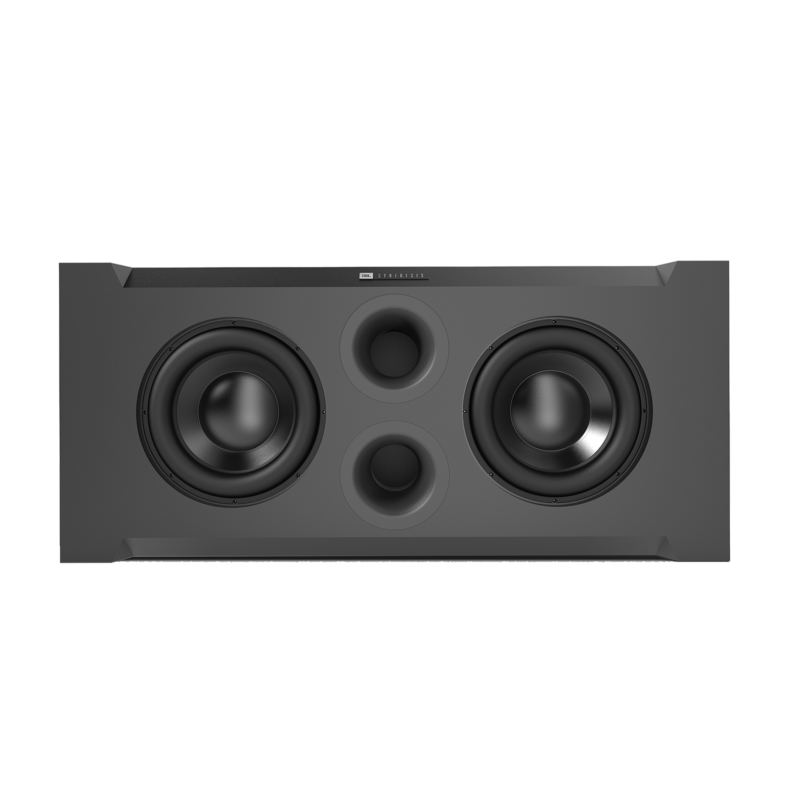 SSW-1 - Black - Dual 15-inch (380mm) Passive Subwoofer - Front