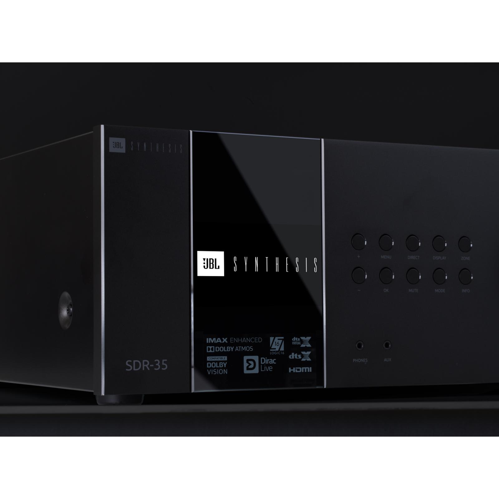 SDR-35 - Black - Class G Immersive Surround Sound AVR w/16 channels of processing - Detailshot 2