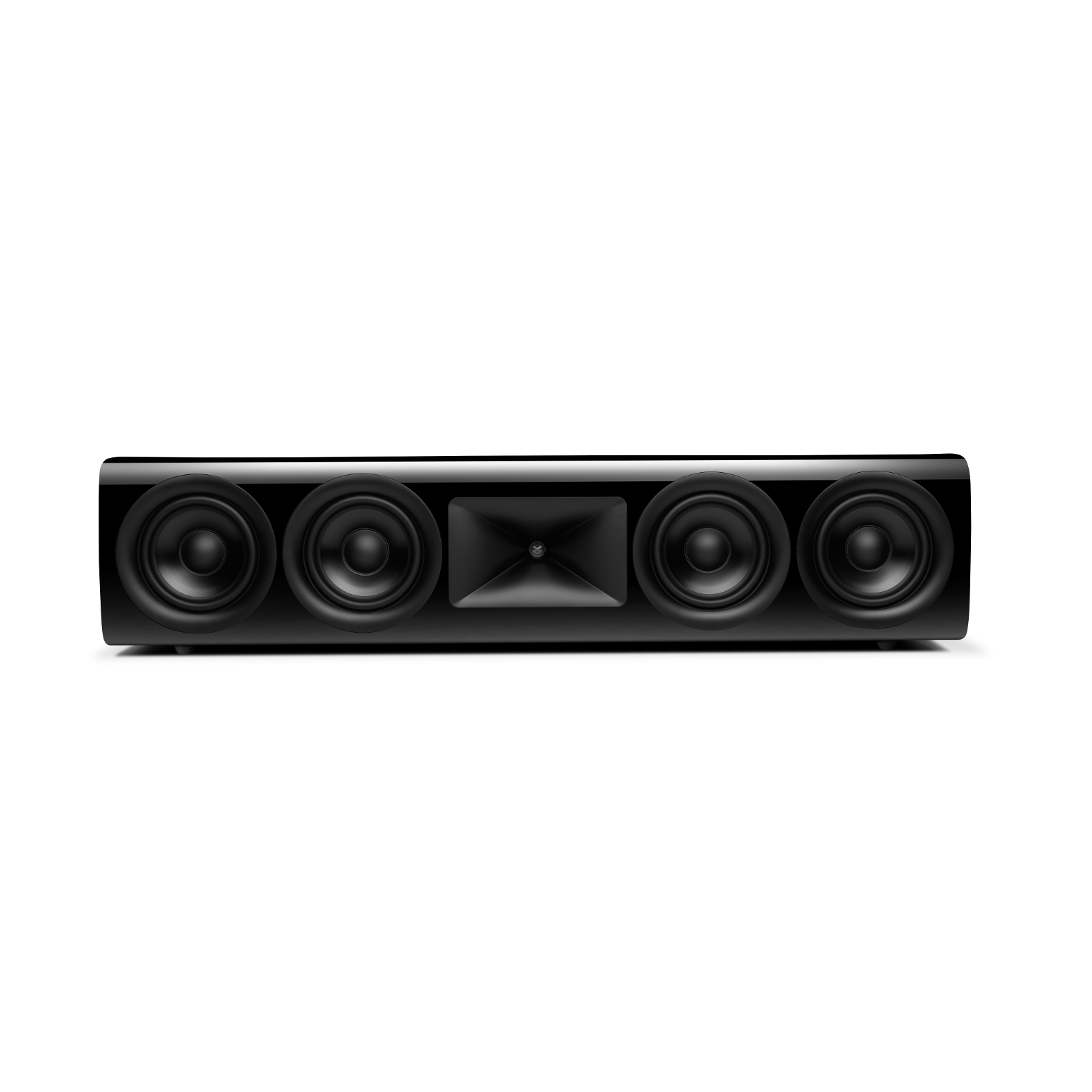 HDI-4500 - Black Gloss - 2 ½-way Quadruple 5.25-inch (130mm) Center Channel Loudspeaker - Hero