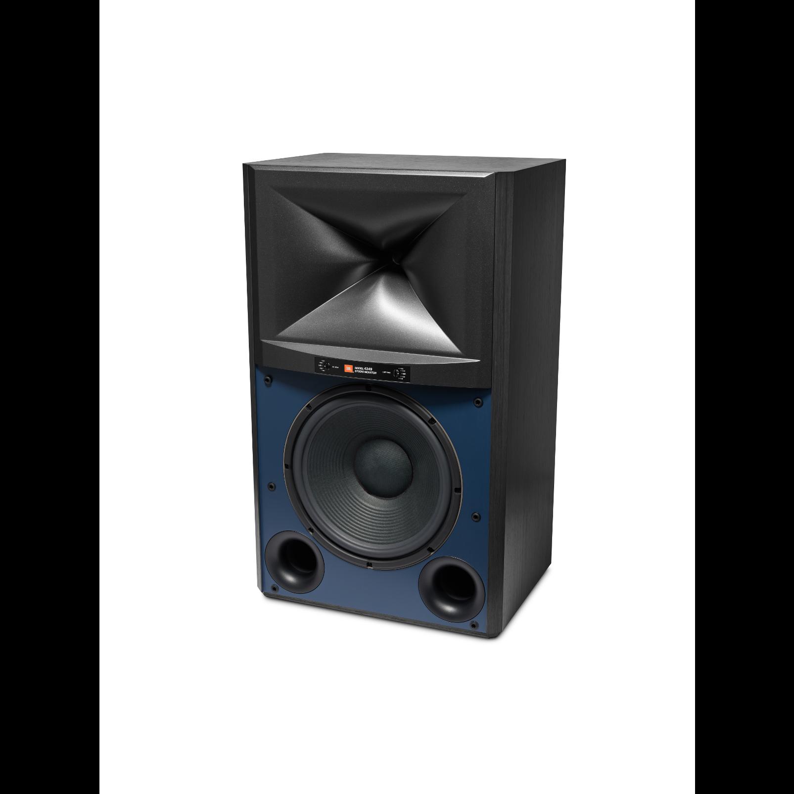 4349 - Black - 12-inch (300mm) 2-way Studio Monitor Loudspeaker - Left