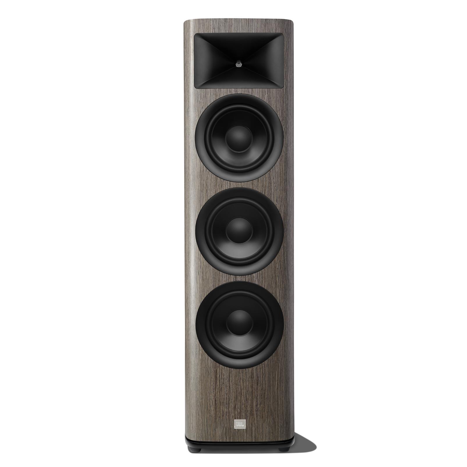HDI-3800 - Grey Oak - 2 ½-way Triple 8-inch (200mm) Floorstanding Loudspeaker - Hero