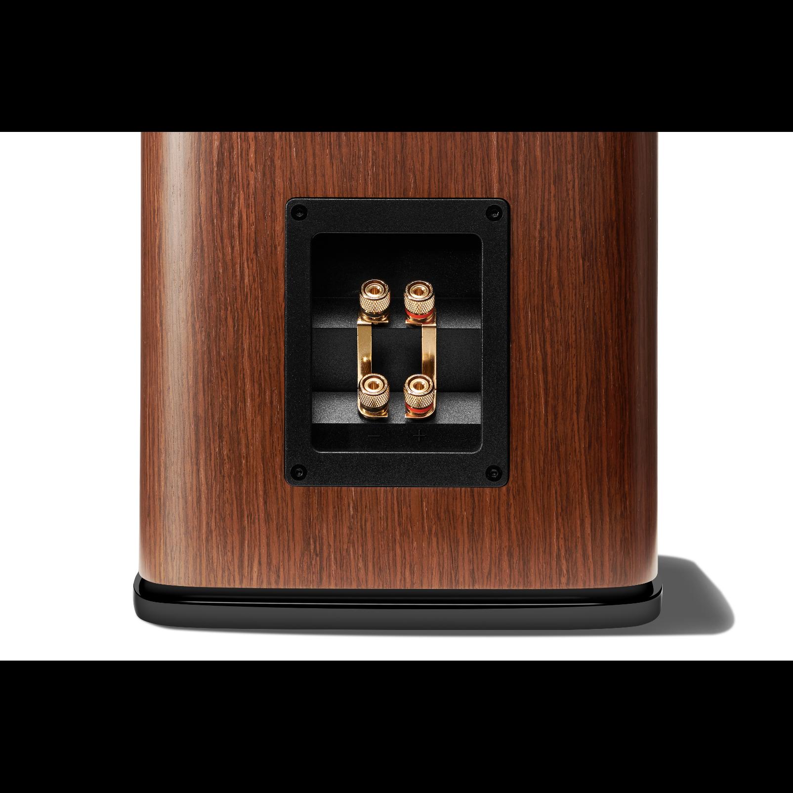 HDI-1600 - Walnut - 2-way 6.5-inch (165mm) Bookshelf Loudspeaker - Detailshot 3