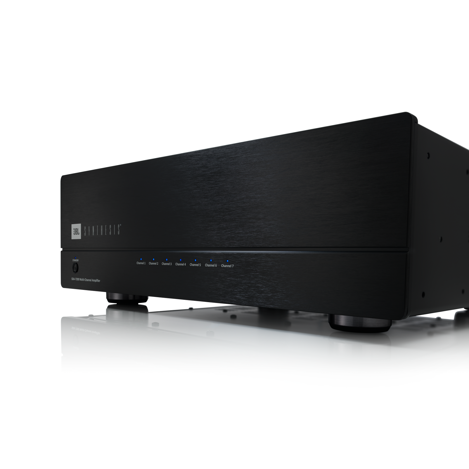 SDA 7200 - Black Lacquer - Multichannel Power Amplifier - Detailshot 1