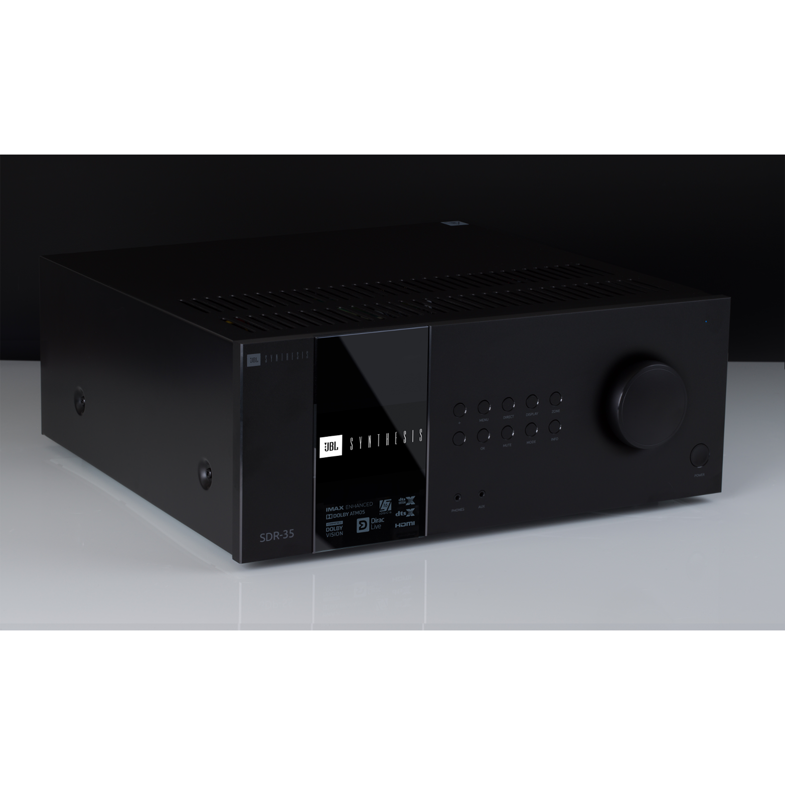 SDR-35 - Black - Class G Immersive Surround Sound AVR w/16 channels of processing - Front