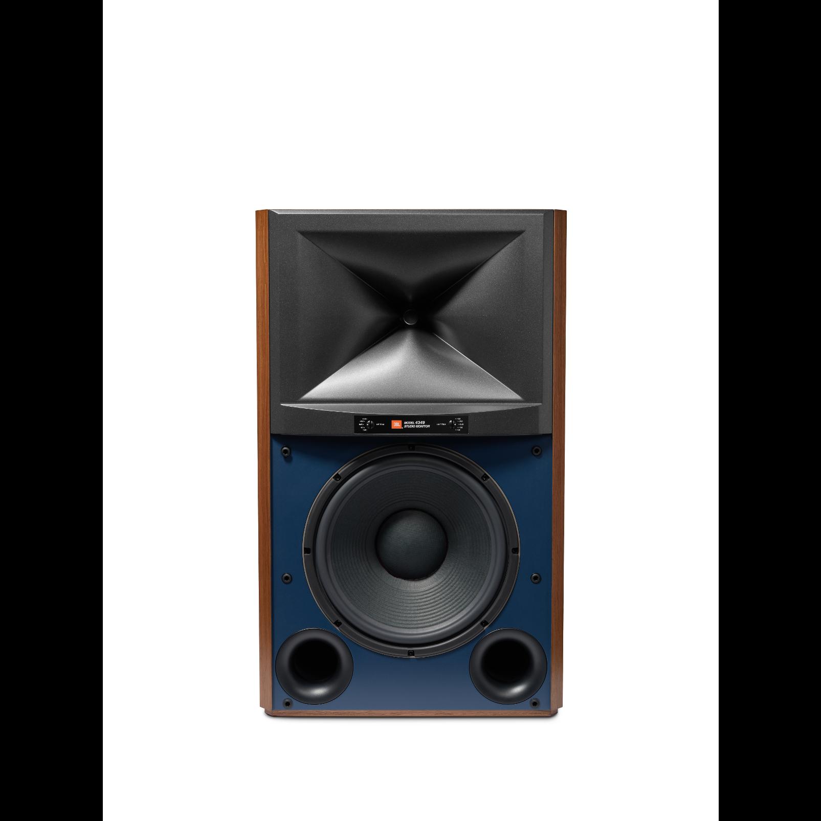 4349 - Walnut - 12-inch (300mm) 2-way Studio Monitor Loudspeaker - Hero