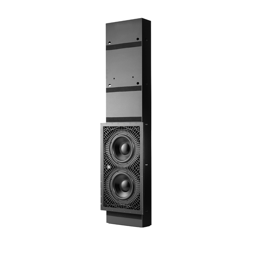 "SSW-3 - Black - Dual 10"" (250mm) In-wall Passive Subwoofer - Hero"