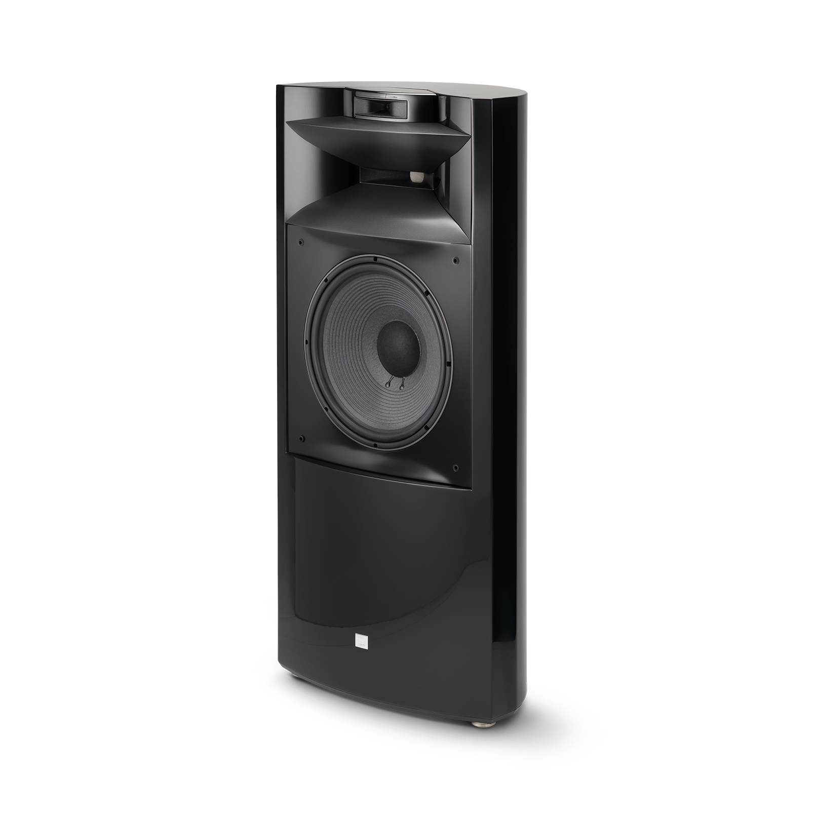 "K2 S9900 - Black Gloss - 3-way 15"" (380mm) Floorstanding Loudspeaker - Detailshot 1"