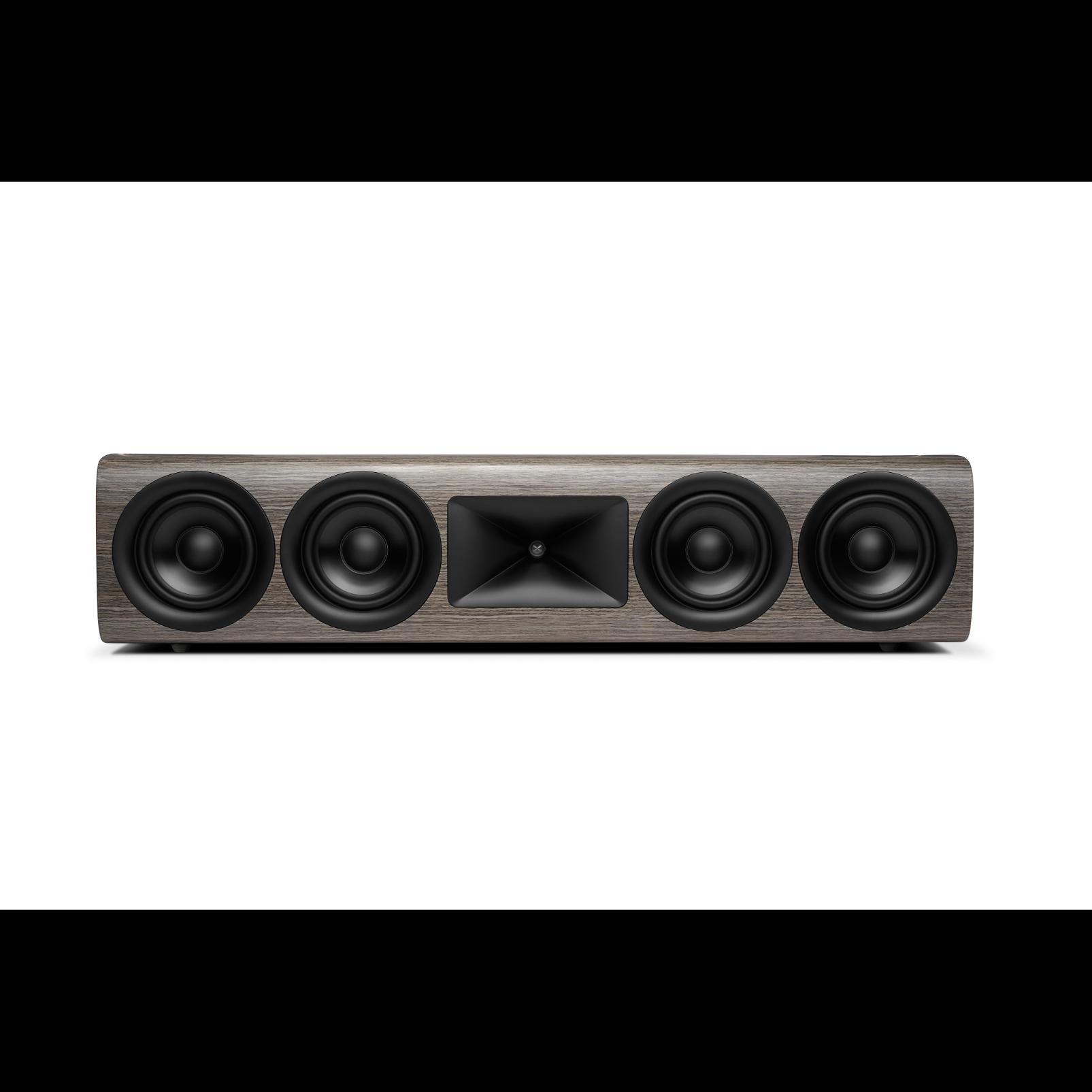 HDI-4500 - Grey Oak - 2 ½-way Quadruple 5.25-inch (130mm) Center Channel Loudspeaker - Hero
