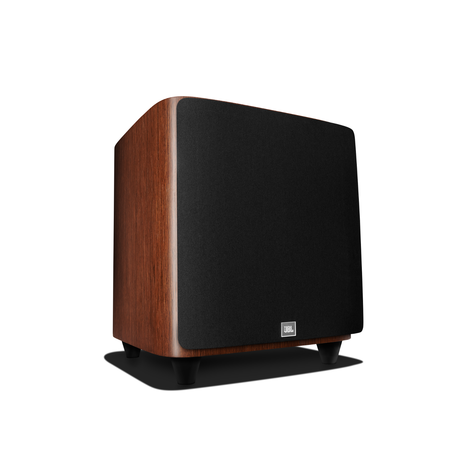 HDI-1200P - Walnut - 12-inch (300mm) 1000W Powered Subwoofer - Front